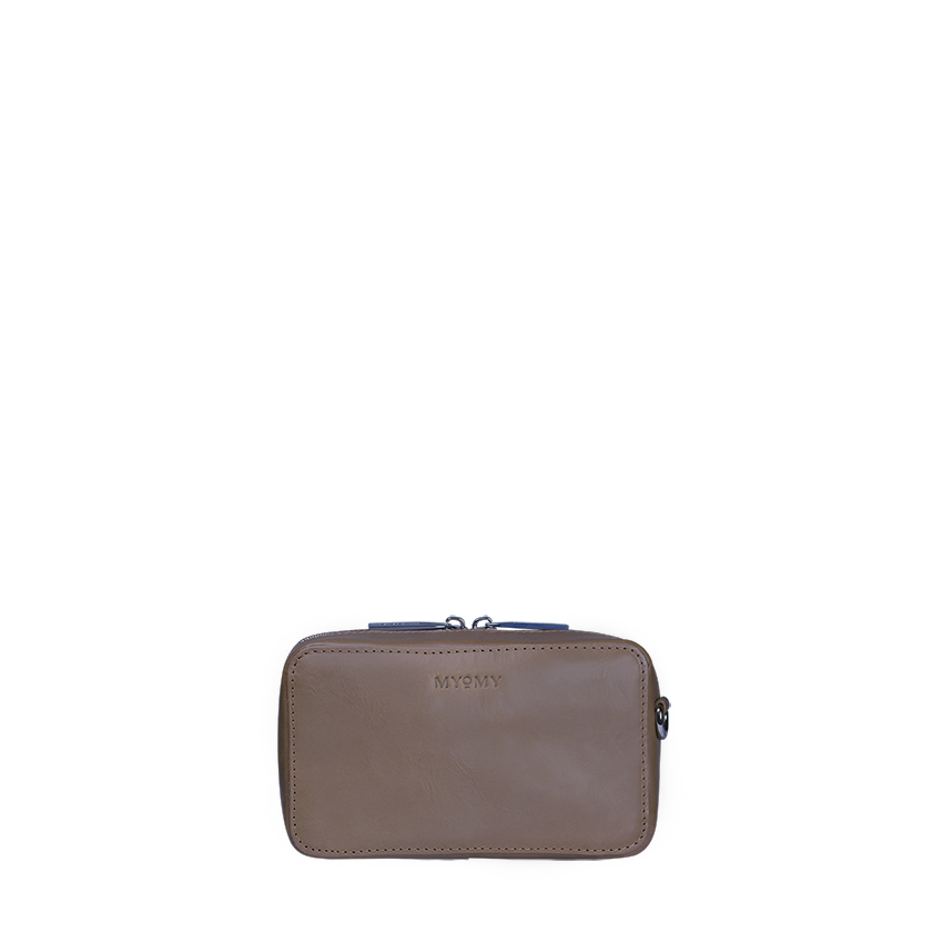 MY BOXY BAG Camera with belt – hunter taupe