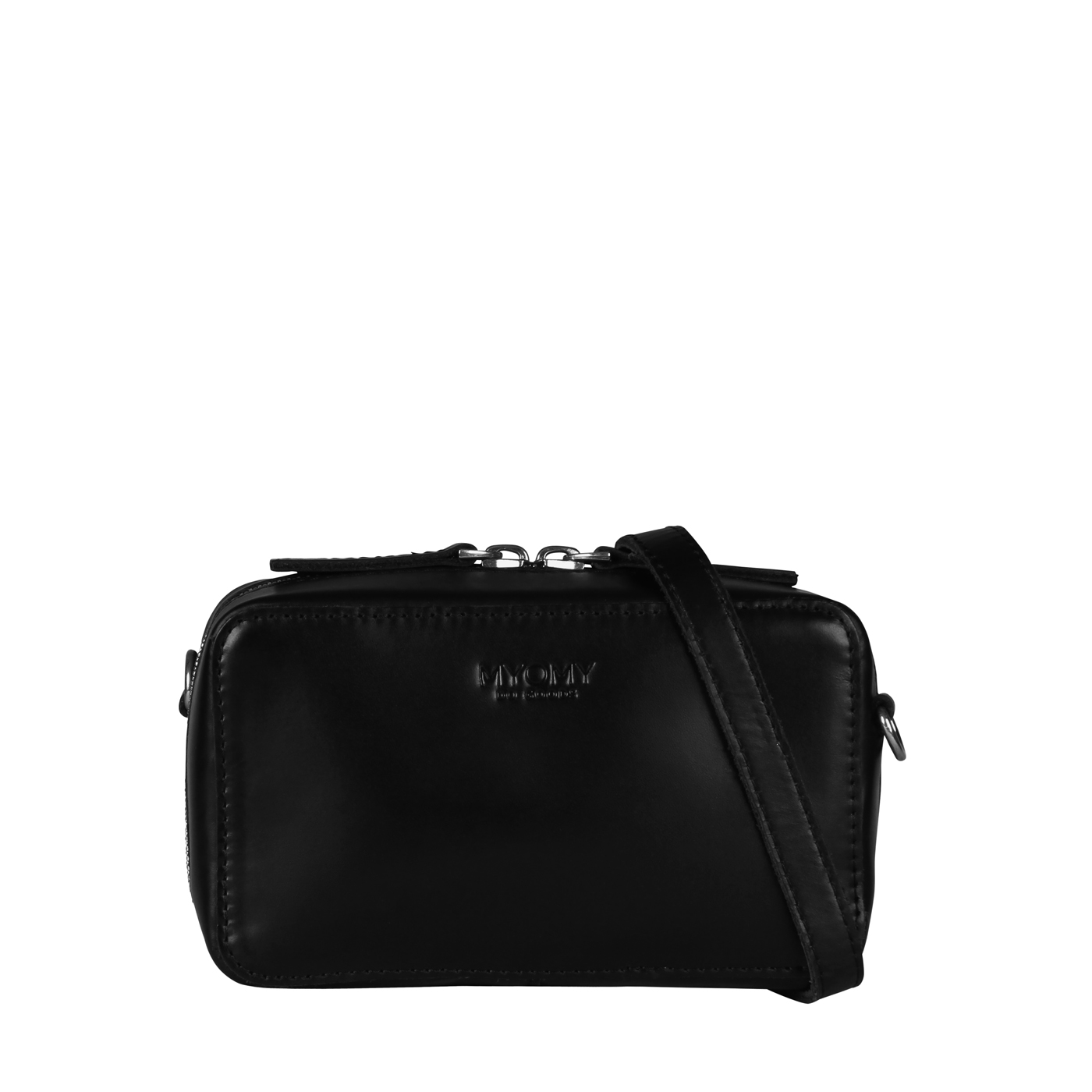 MY BOXY BAG Camera - hunter waxy black