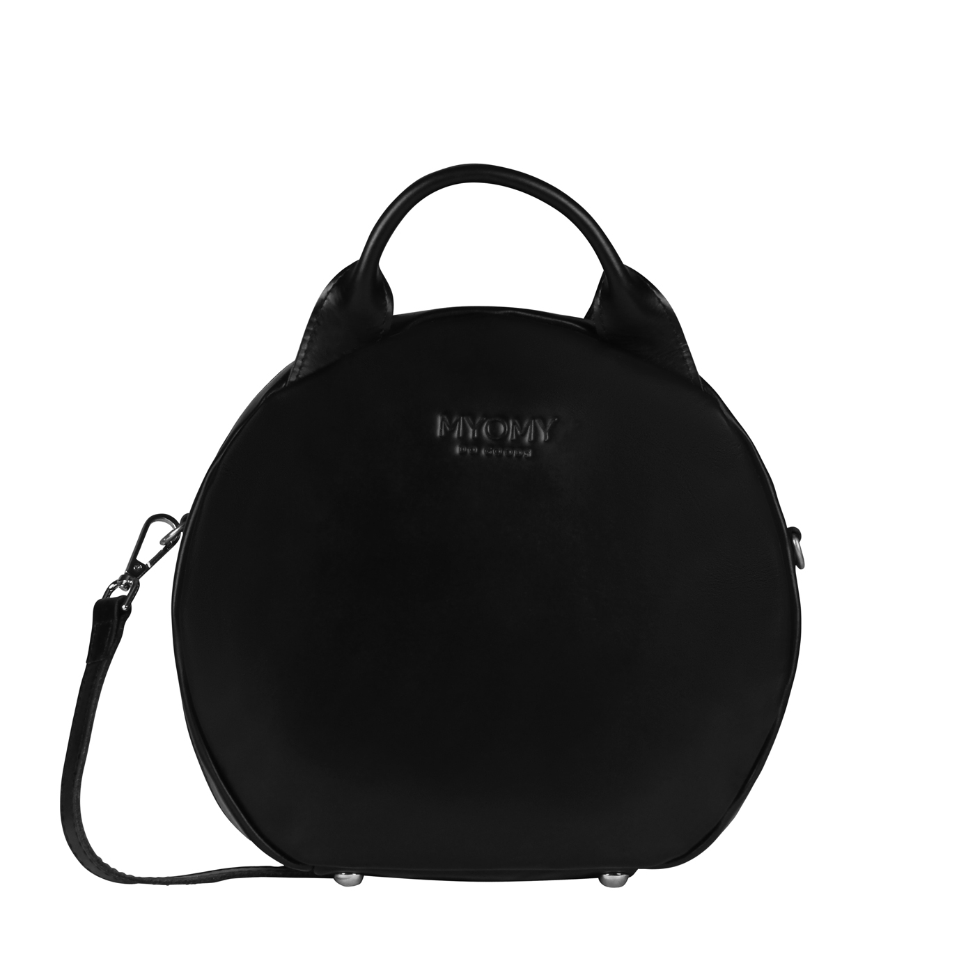 MY BOXY BAG Cookie - hunter waxy black