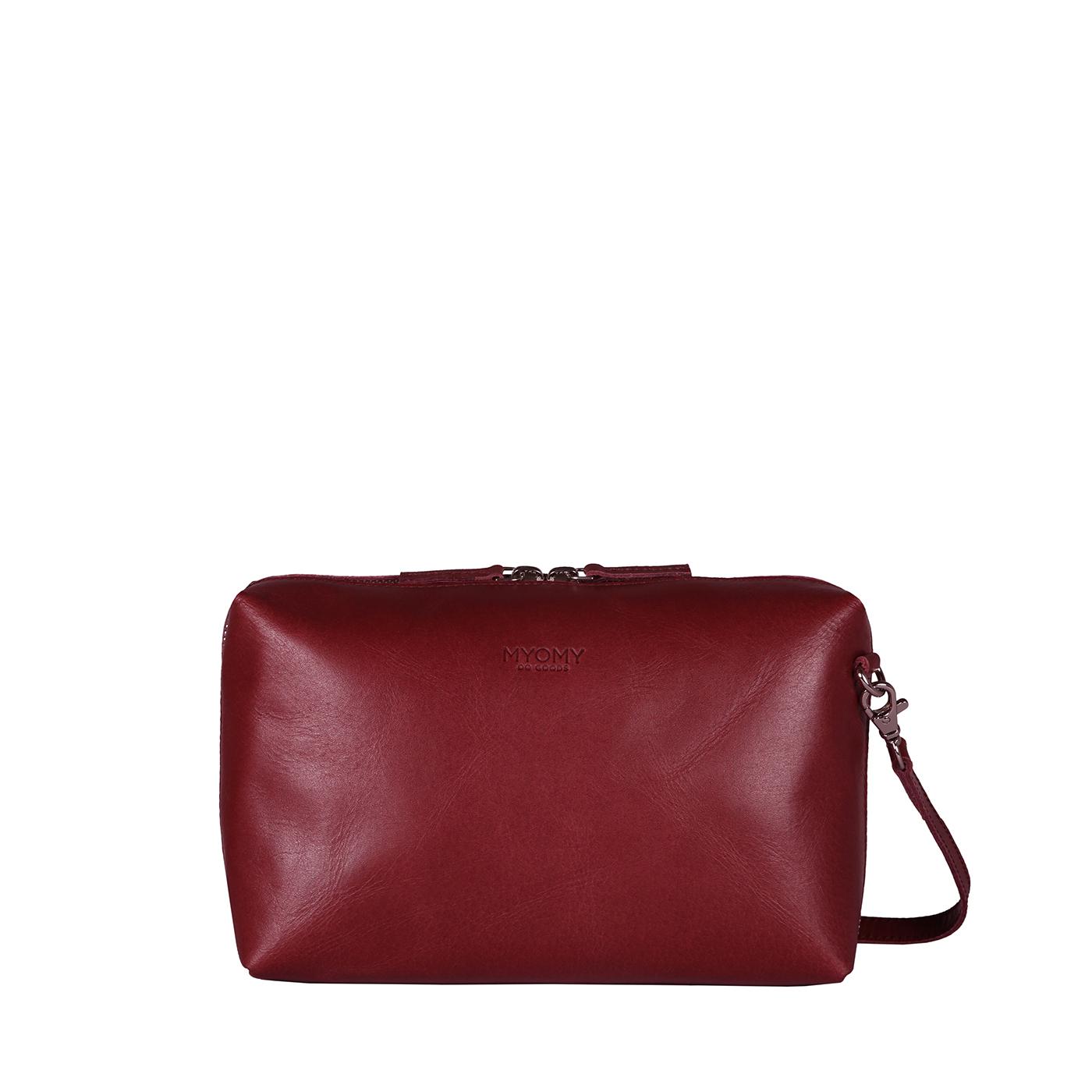 MY BOXY BAG Handbag - hunter waxy burgundy