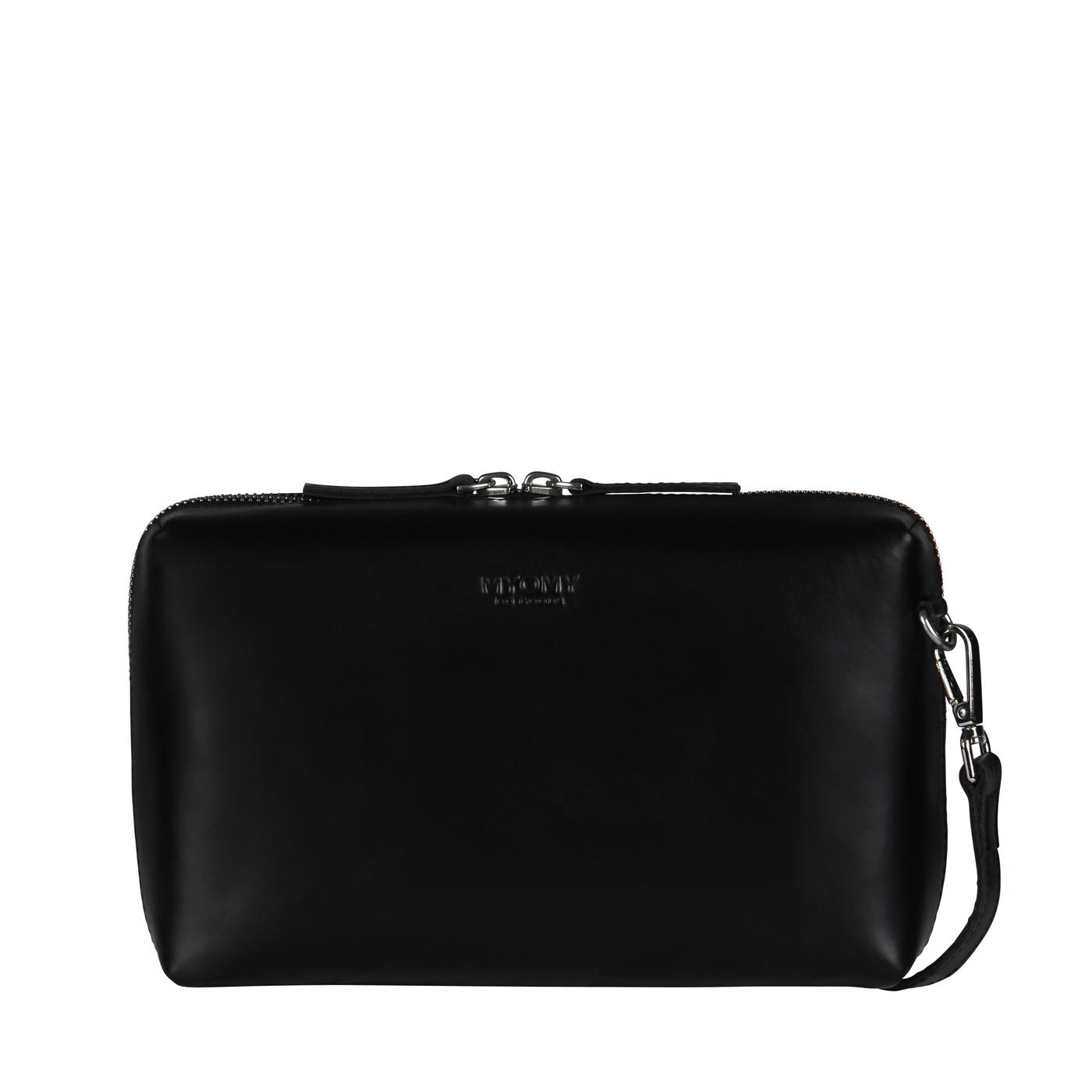 MY BOXY BAG Handbag - hunter waxy black