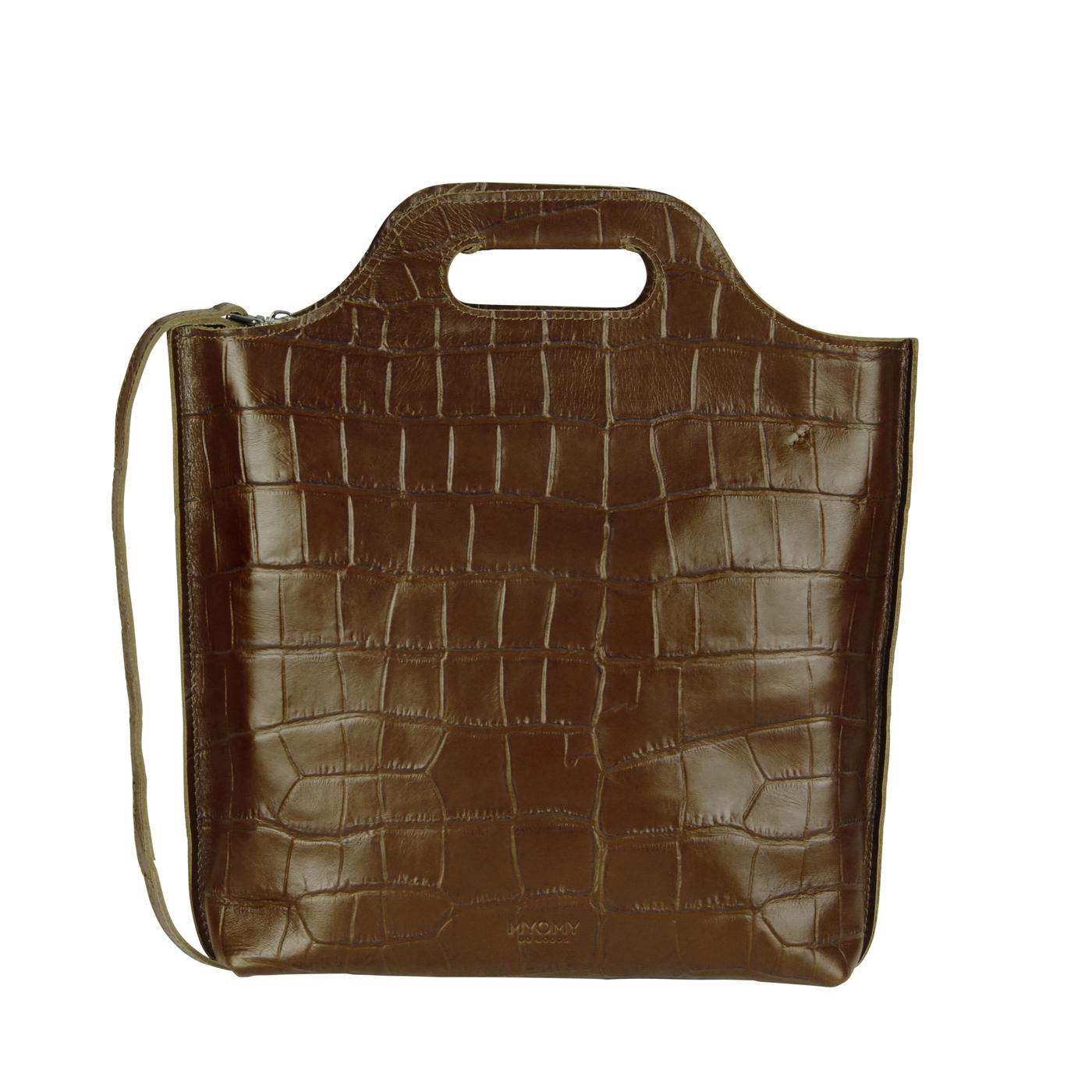 MY CARRY BAG shopper medium- croco original