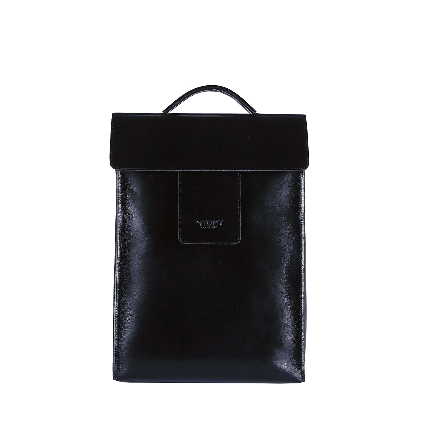 MY HOME BAG Backbag – hunter waxy black