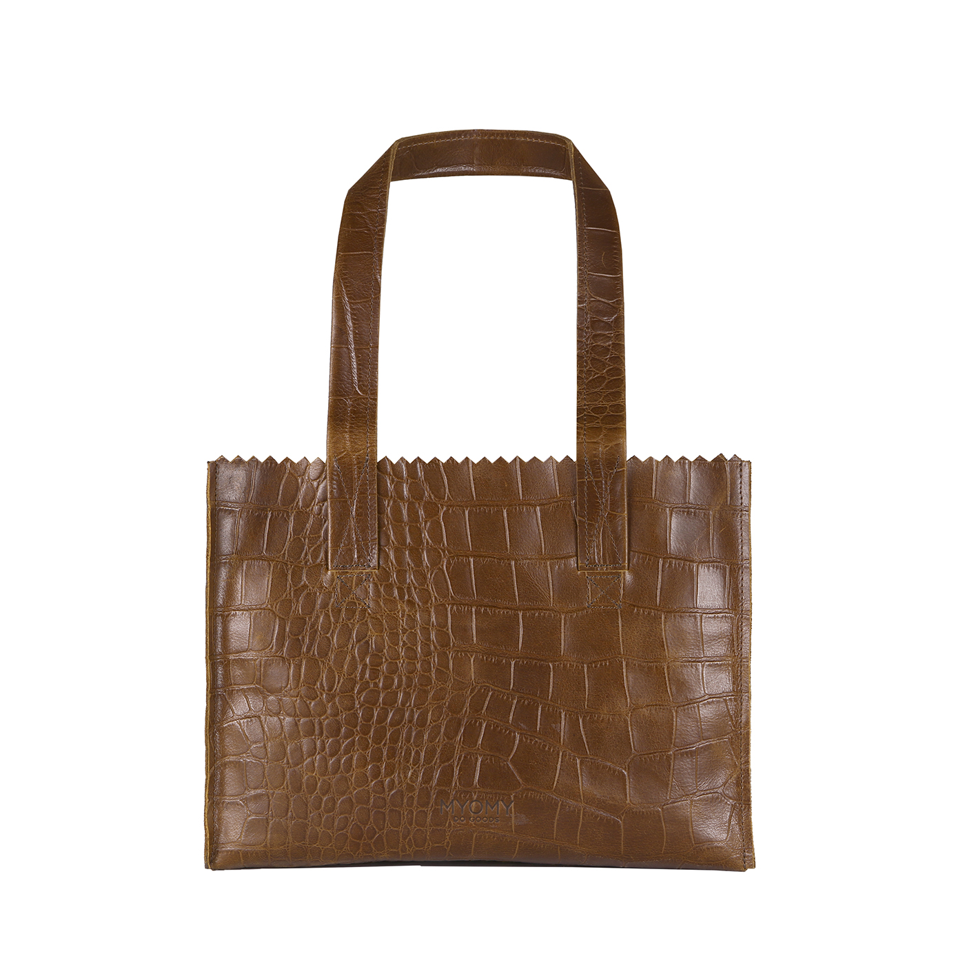 MY PAPER BAG Handbag - croco original