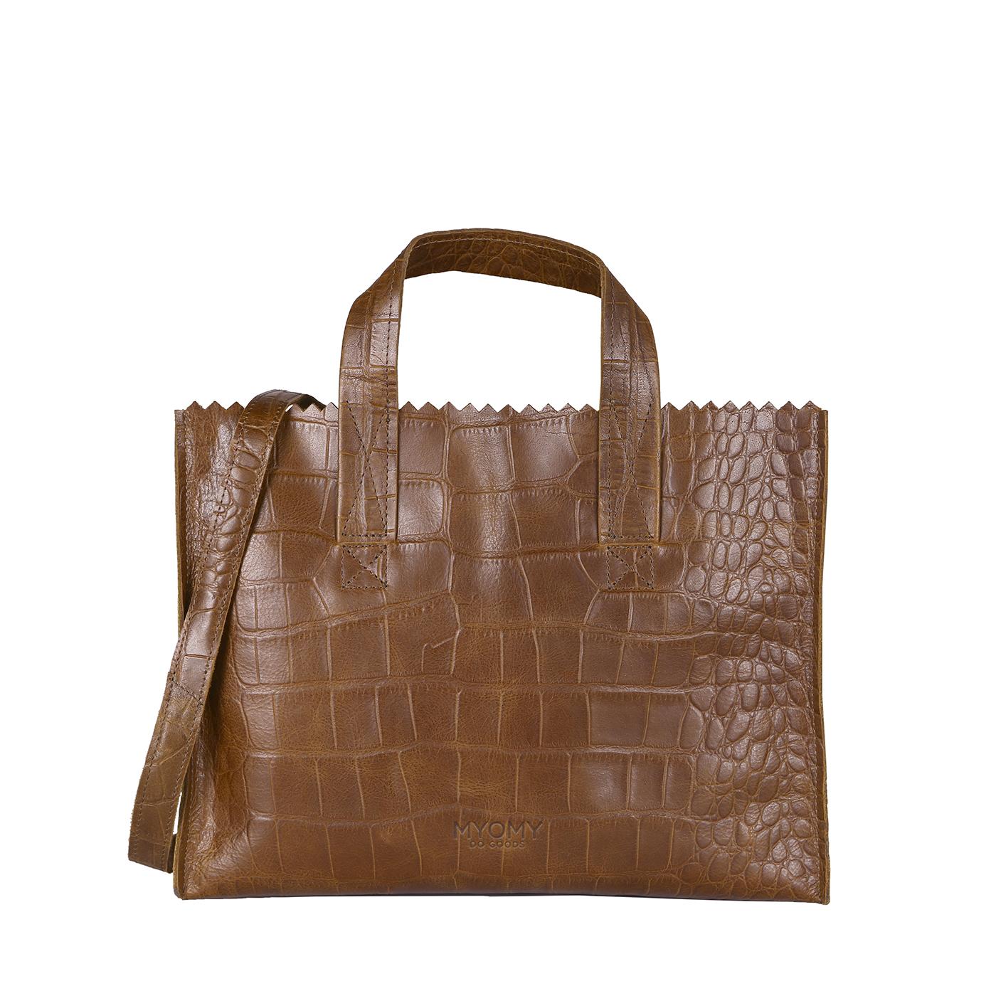 MY PAPER BAG Handbag cross-body - croco original