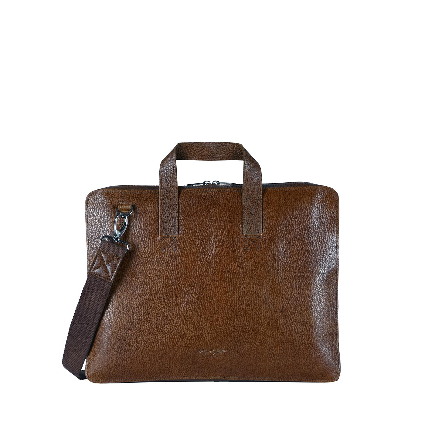 MY PAPER BAG Laptop - rambler brandy