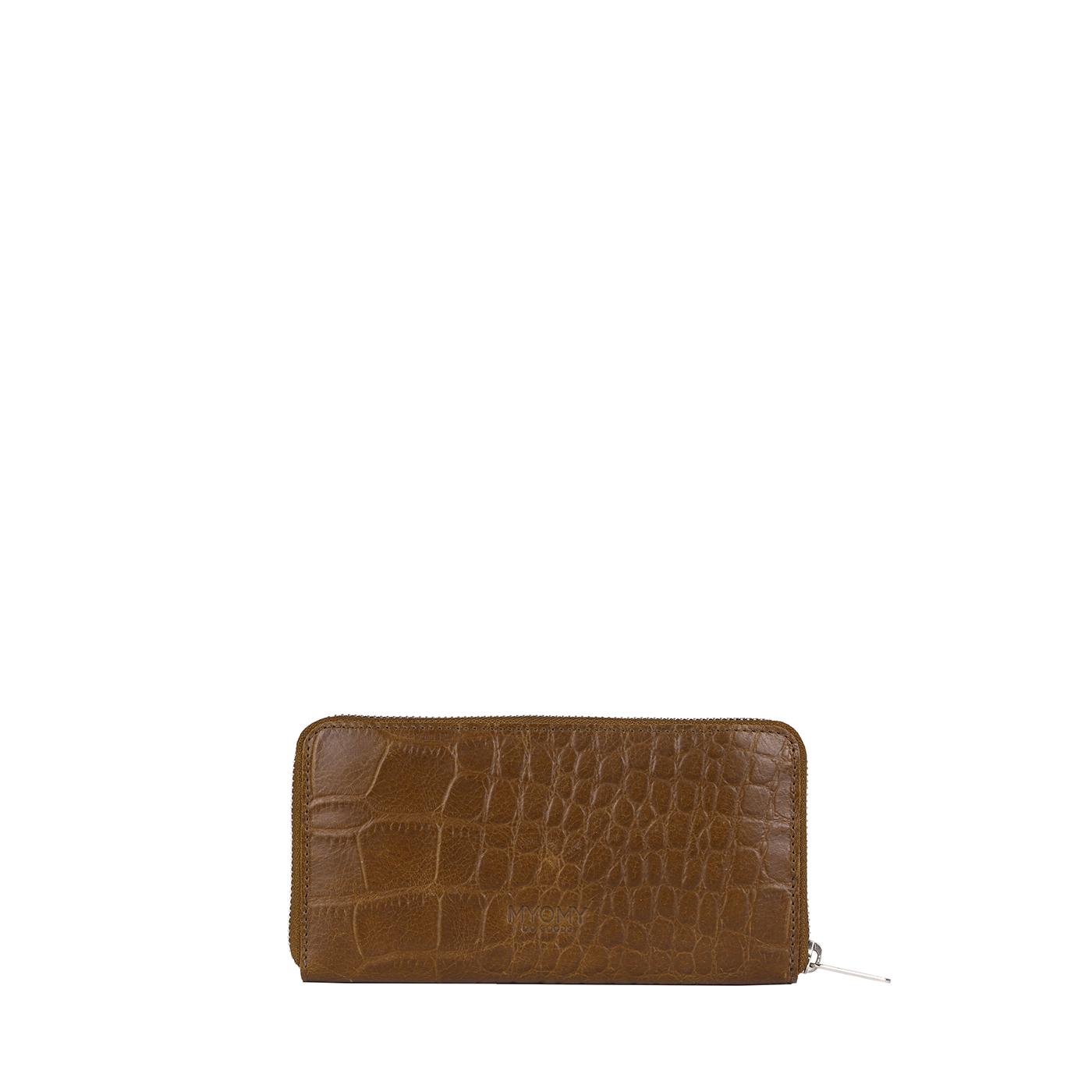 MY PAPER BAG Wallet Large (RFID) - croco original