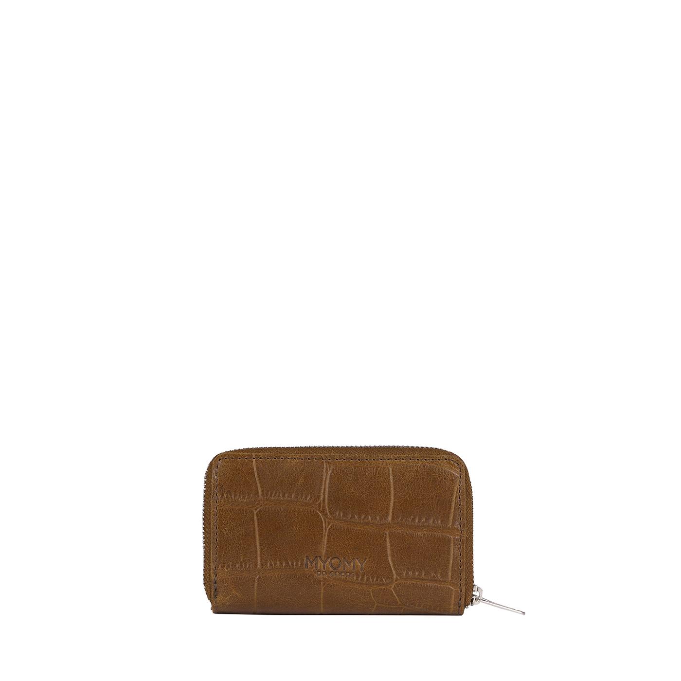 MY PAPER BAG Wallet Medium - croco original