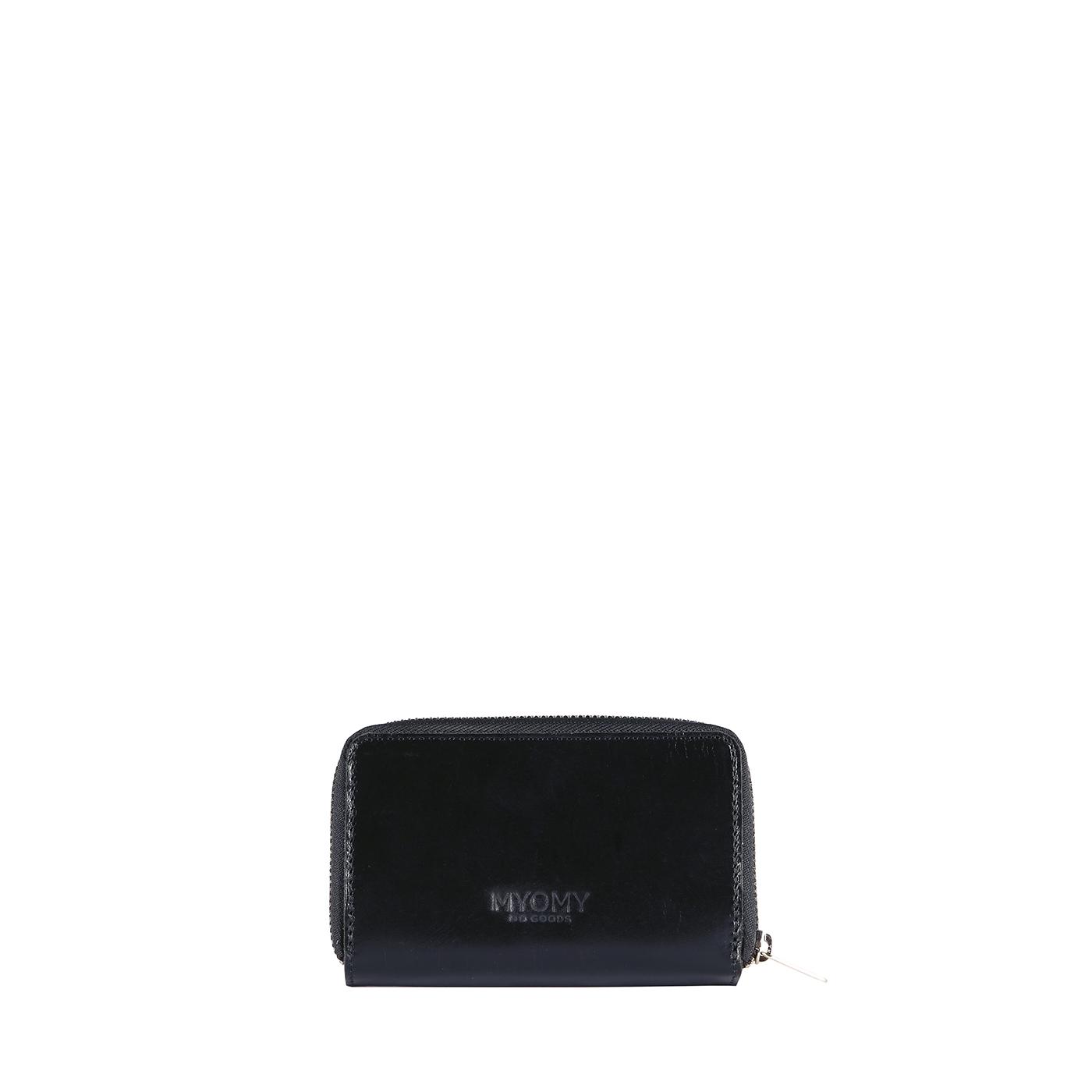 MY PAPER BAG Wallet Medium (RFID) - hunter waxy black