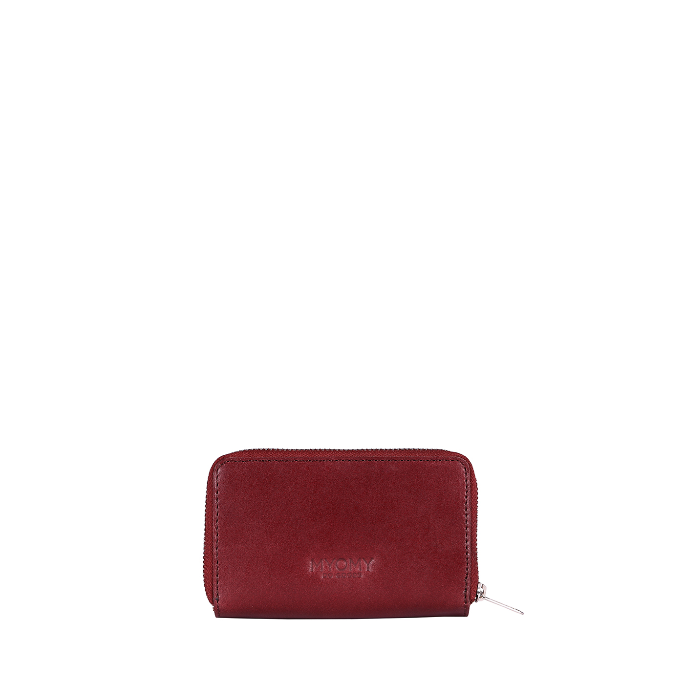 MY PAPER BAG Wallet Medium (RFID) - hunter waxy burgundy