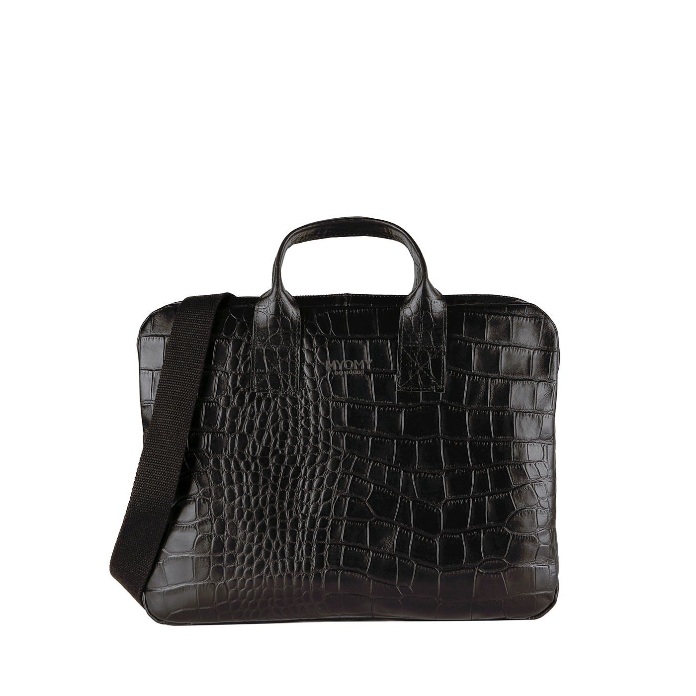 MY PHILIP BAG Laptop - croco black