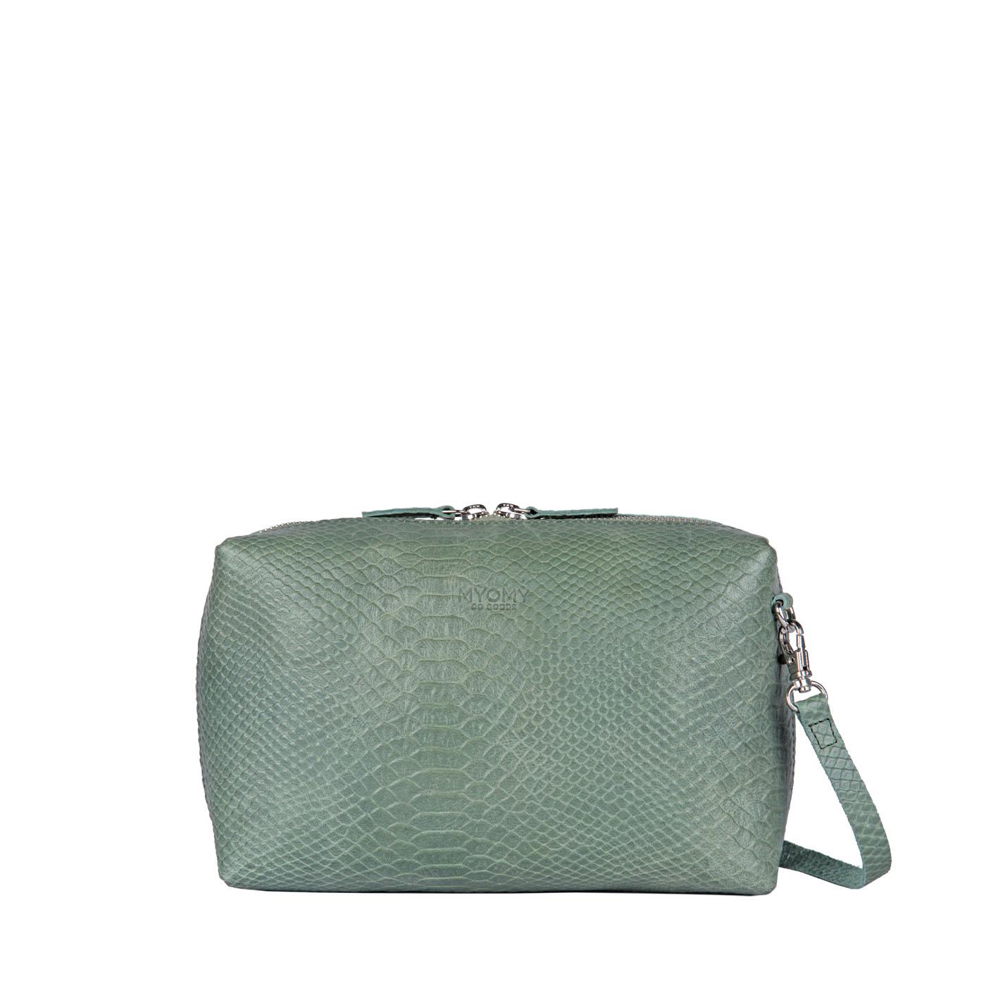 MY BOXY BAG Workbag - anaconda sea green