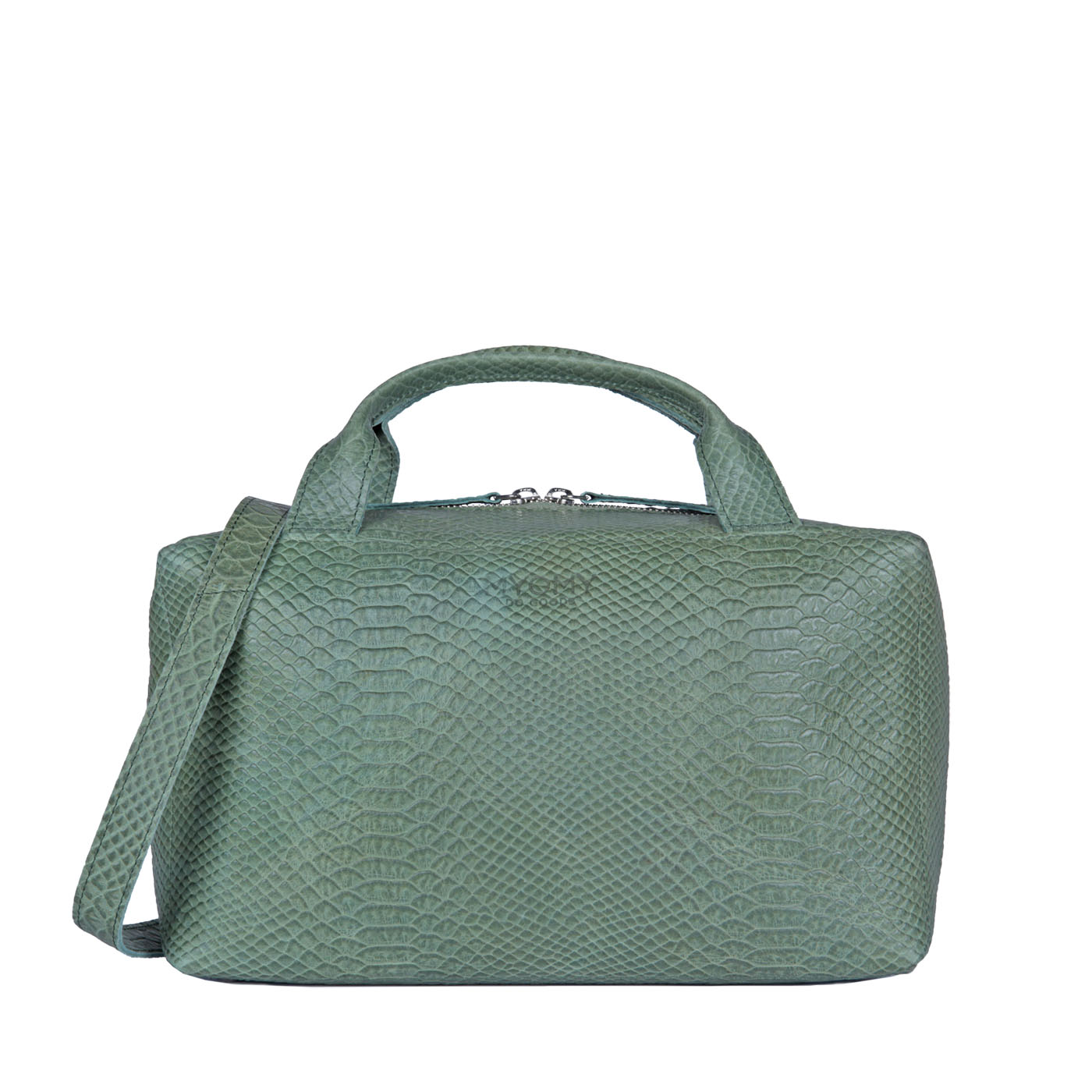 MY BOXY BAG Workbag - anaconda sea green