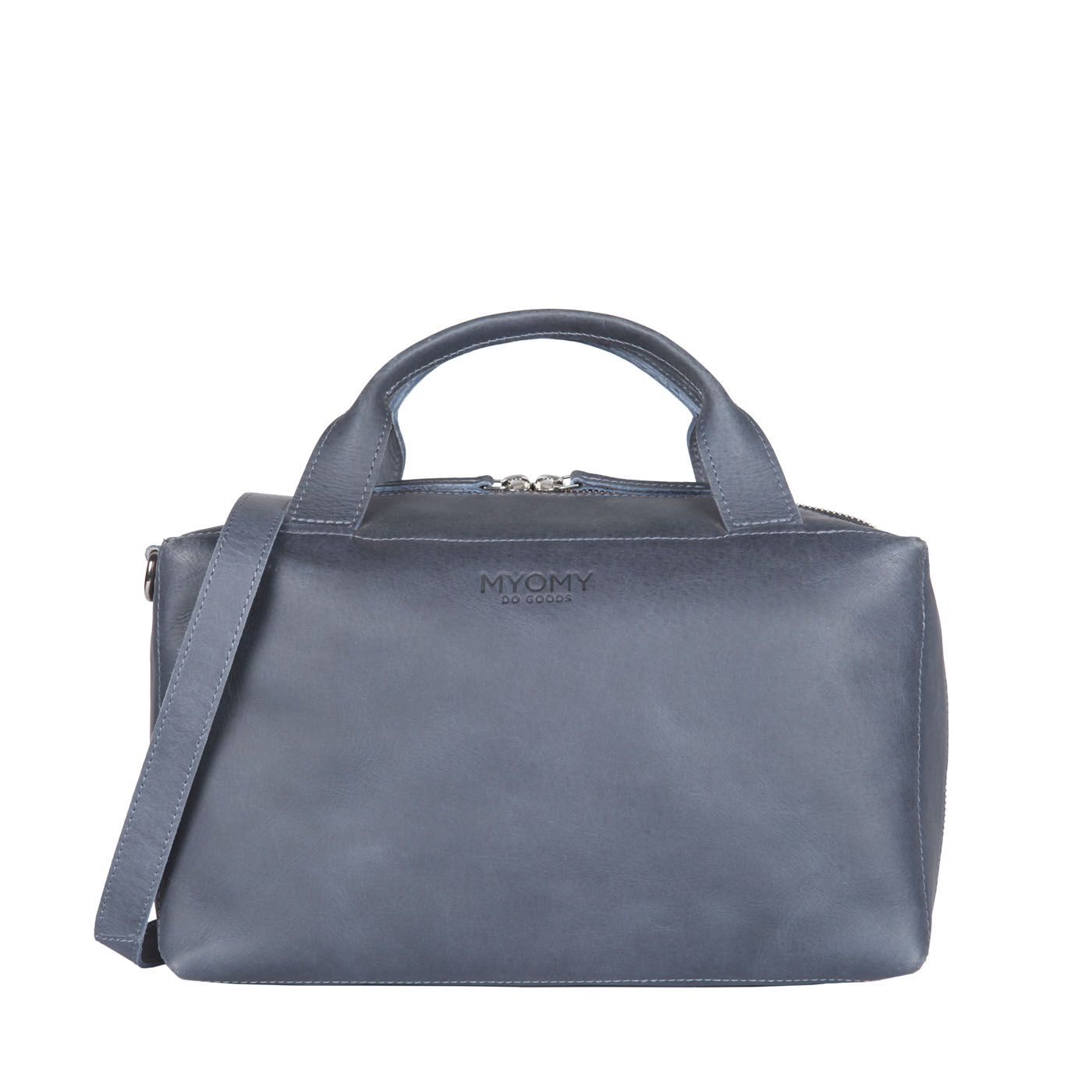 MY BOXY BAG Workbag - hunter navy blue