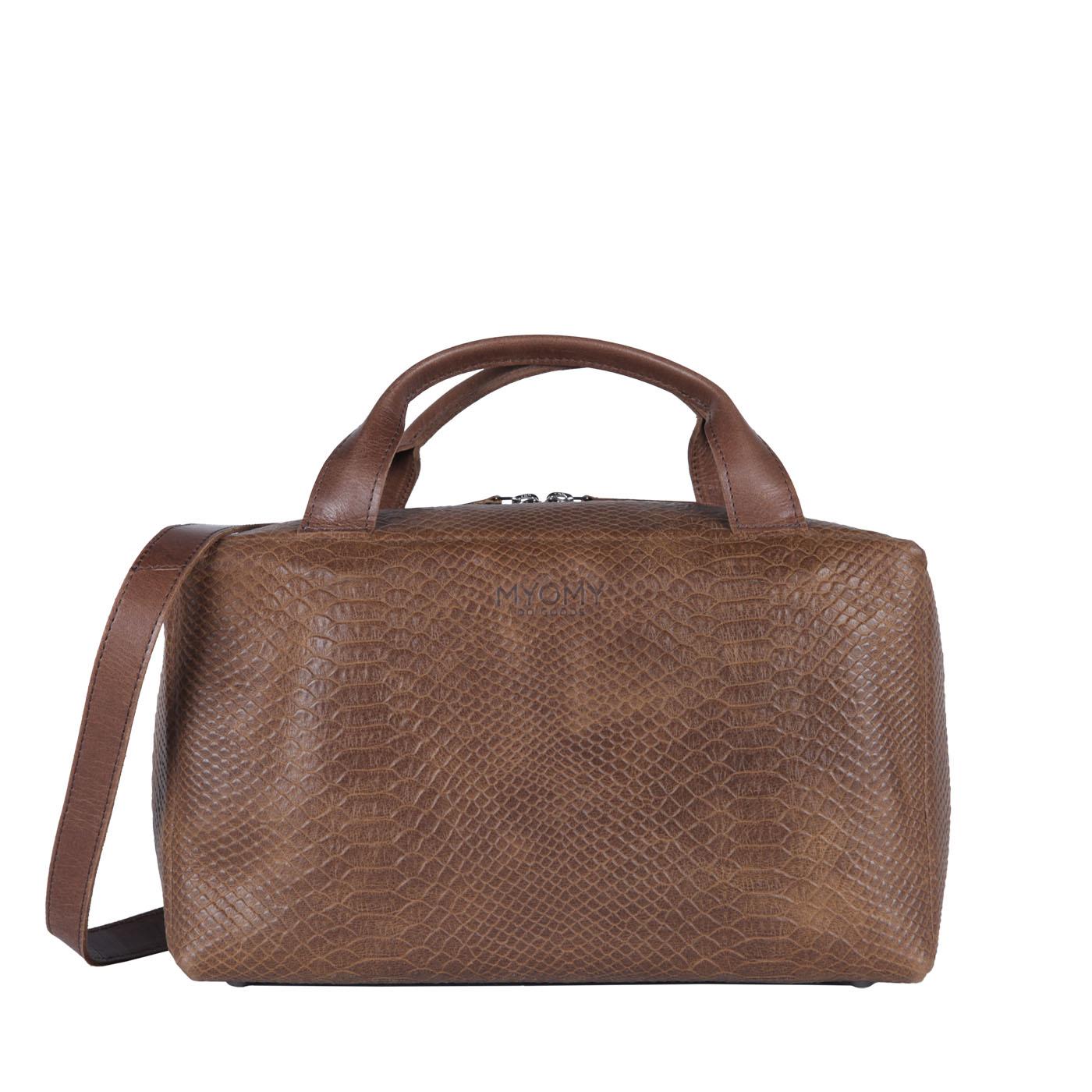 MY BOXY BAG Workbag - mix anaconda & hunter waxy original