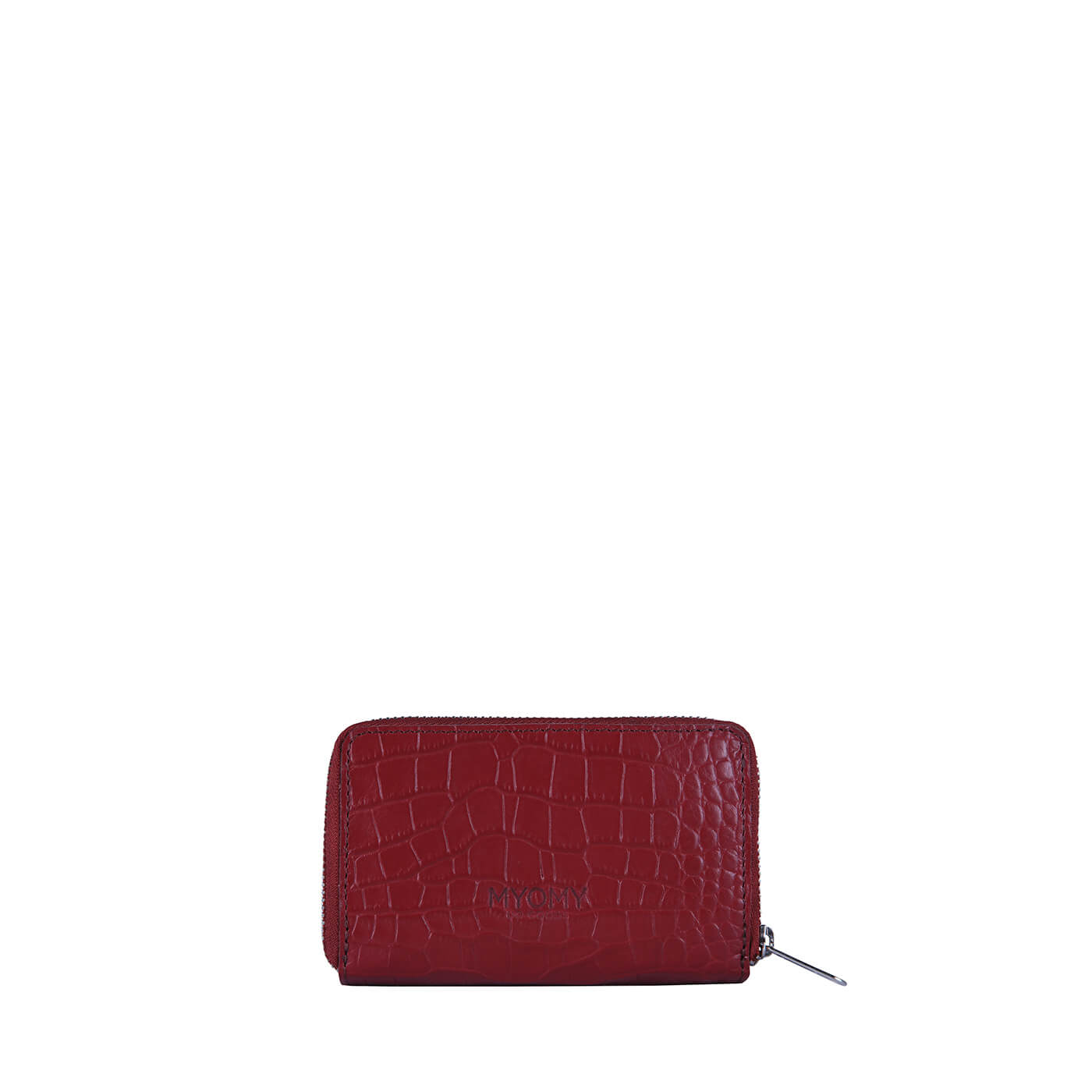 [PRE-ORDER] MY PAPER BAG Wallet Medium – croco burgundy