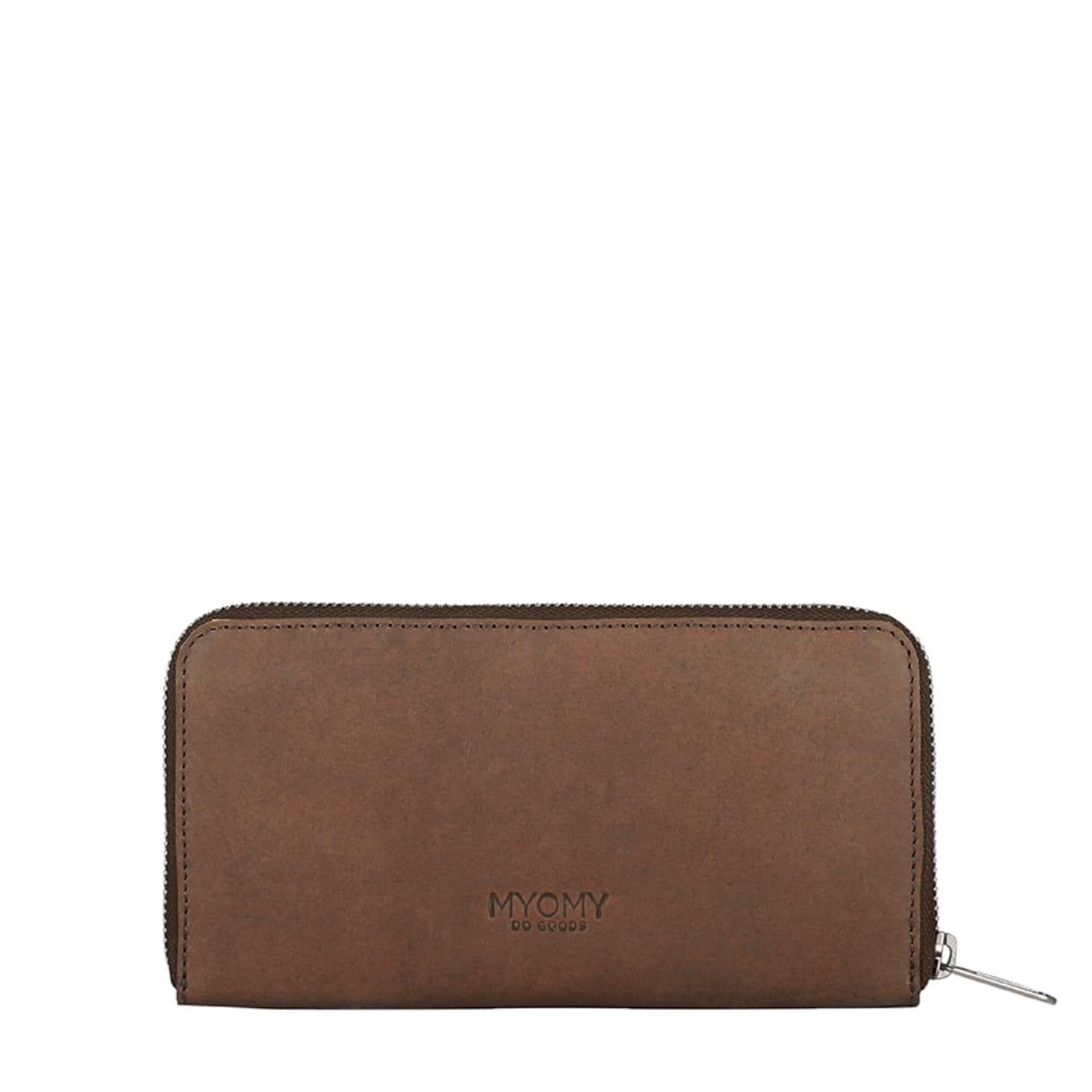 MY PAPER BAG Wallet Large (RFID) - hunter original