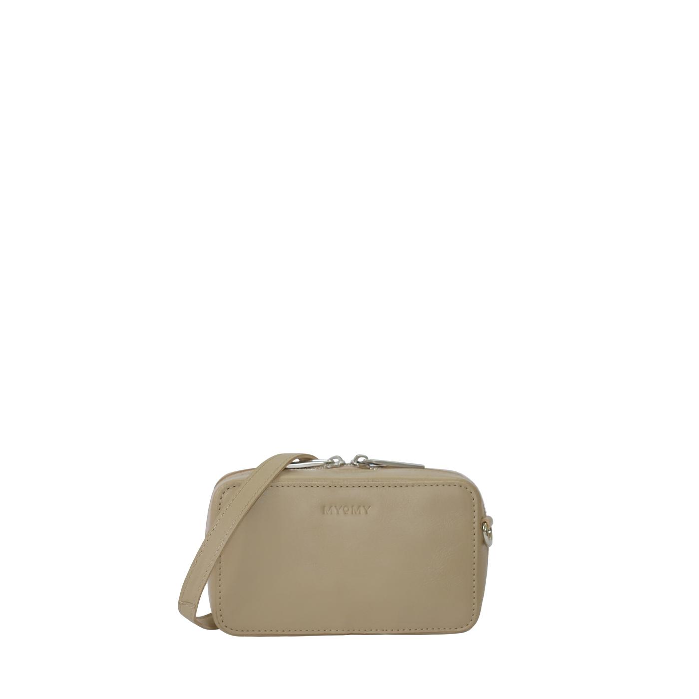 MY BOXY BAG Camera with belt - sand