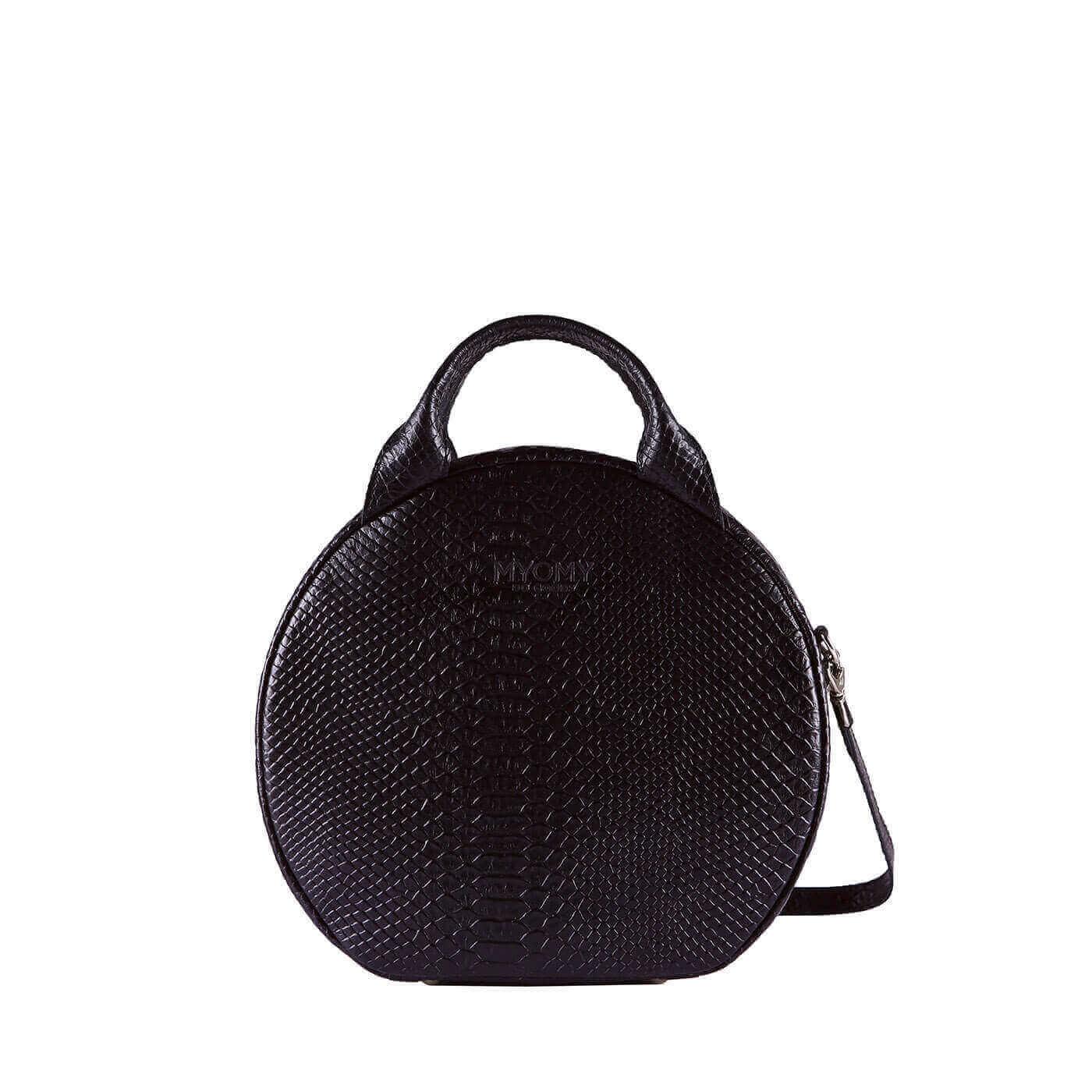 MY BOXY BAG  Cookie - anaconda black