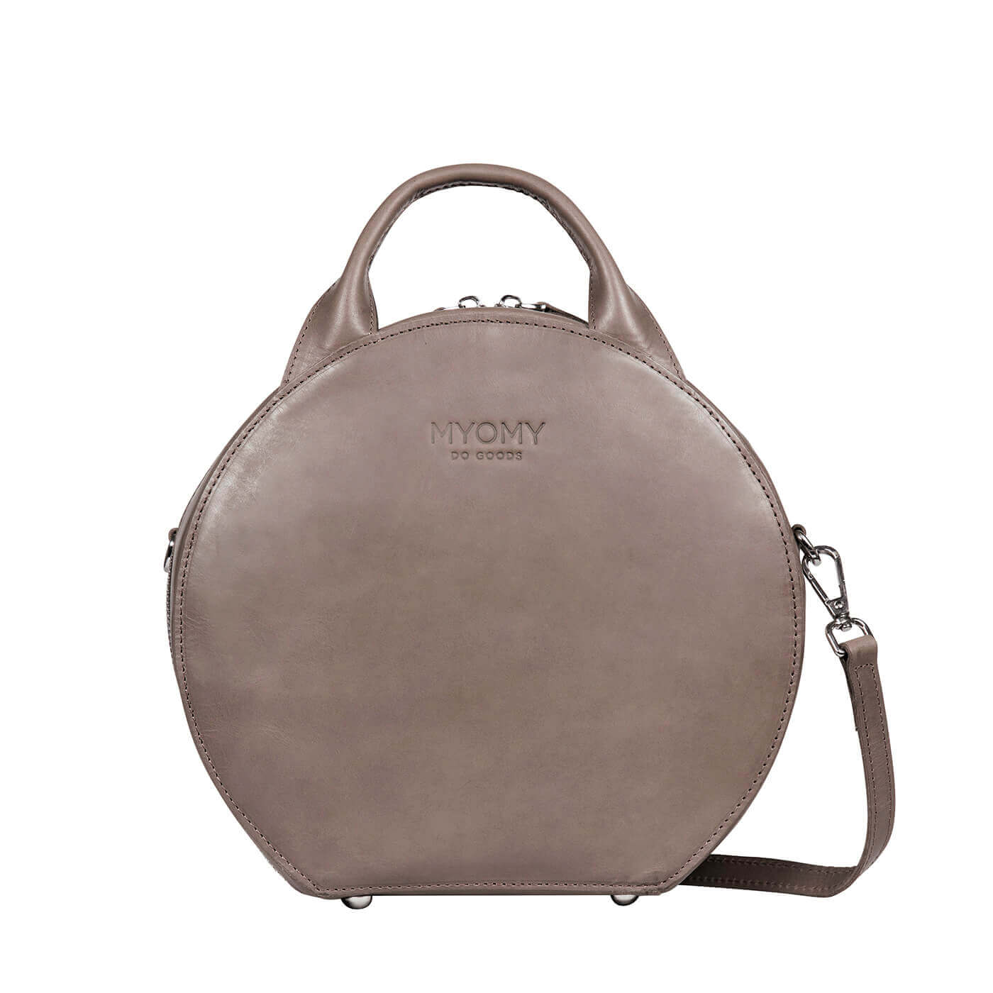 MY BOXY BAG Cookie - hunter taupe