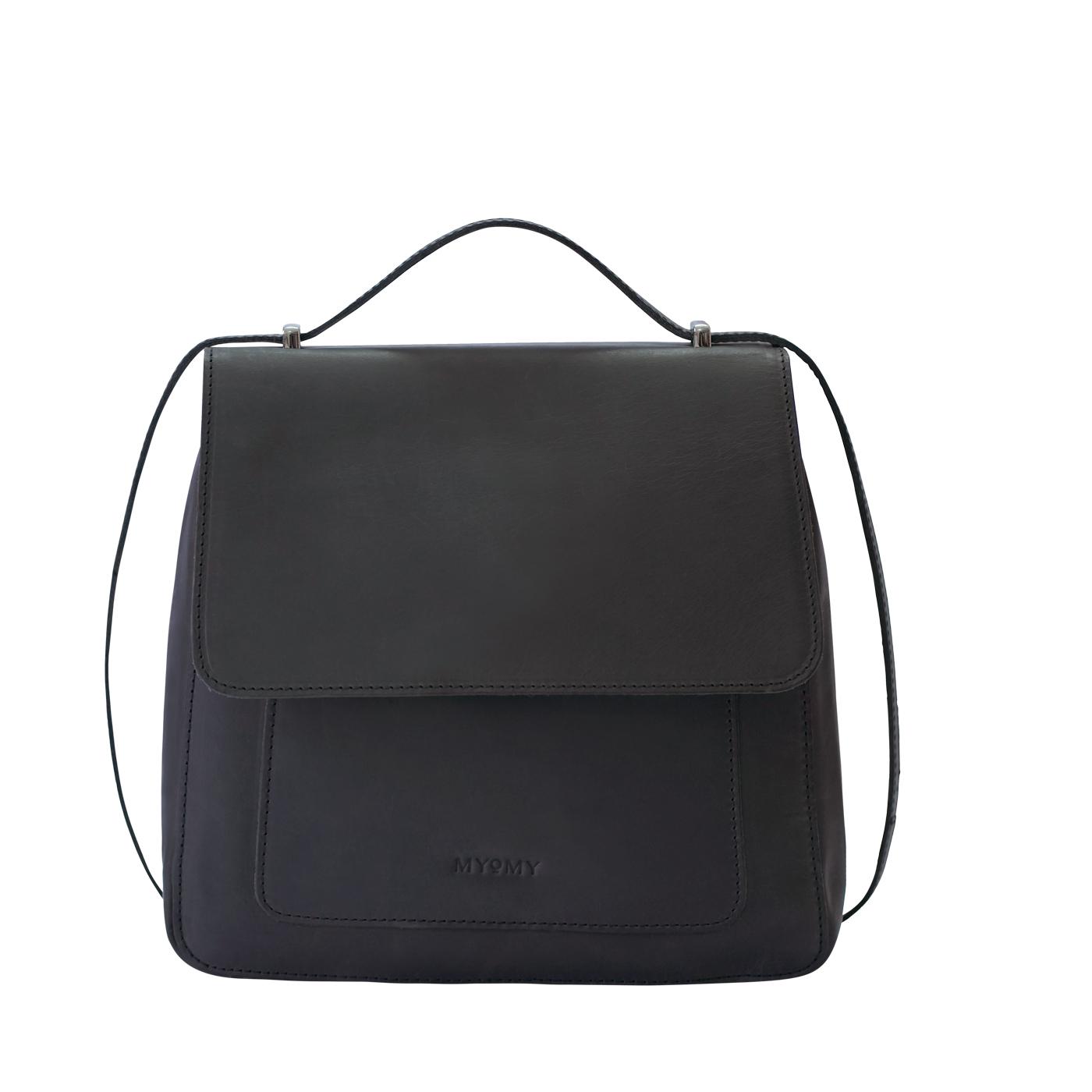 MY BOXY BAG Locker - hunter off-black