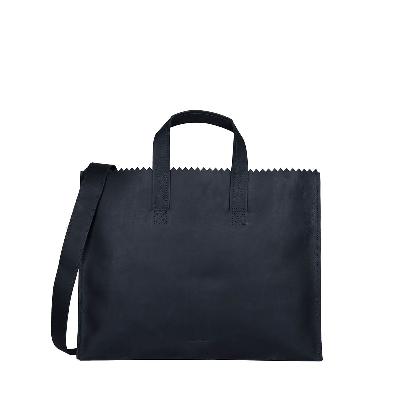 MY PAPER BAG Business bag - hunter off-black
