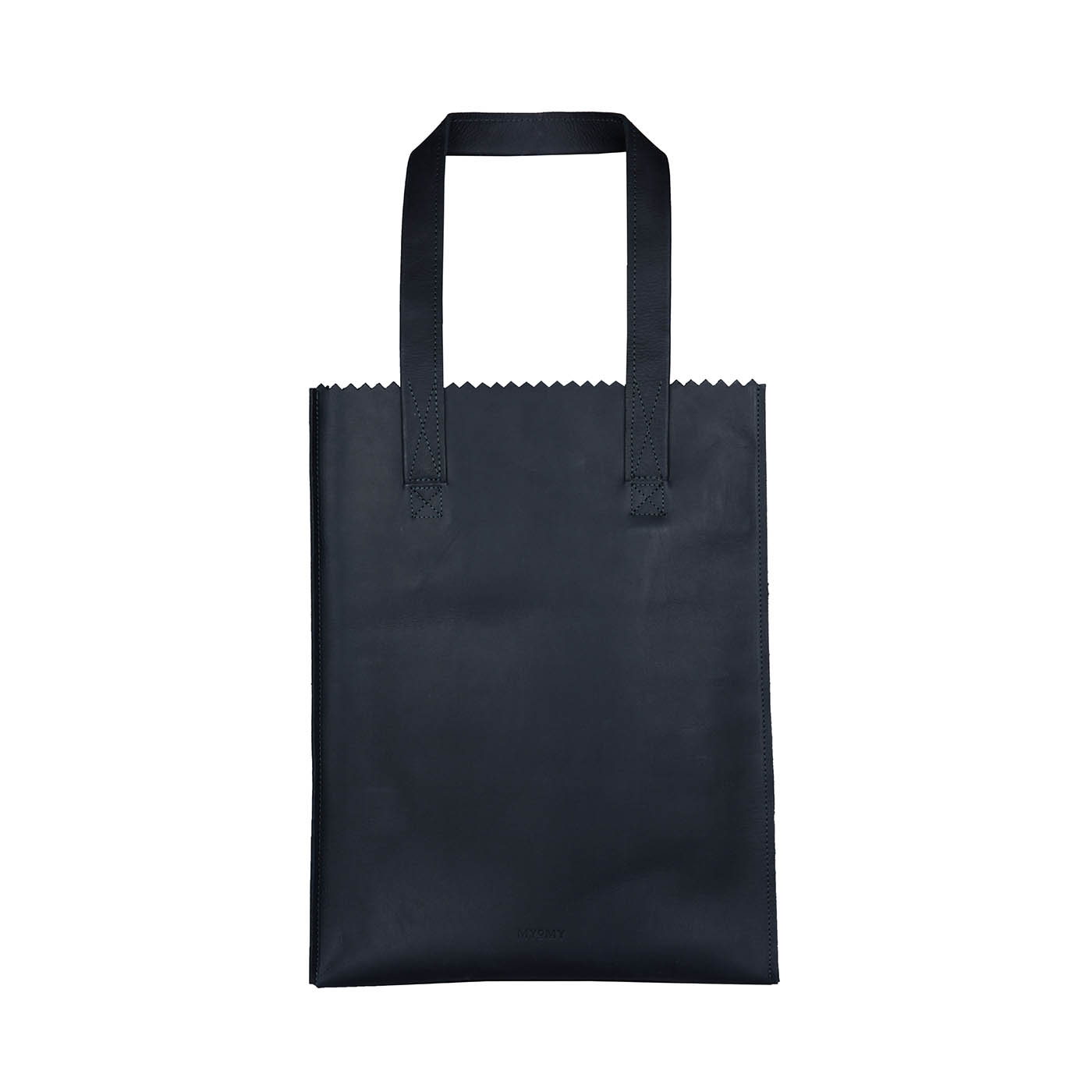 MY PAPER BAG long handle zip - hunter off-black