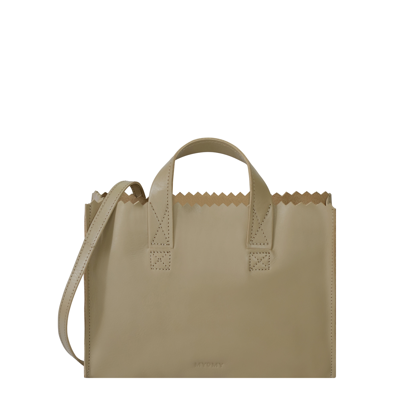 MY PAPER BAG Mini handbag cross-body - sand