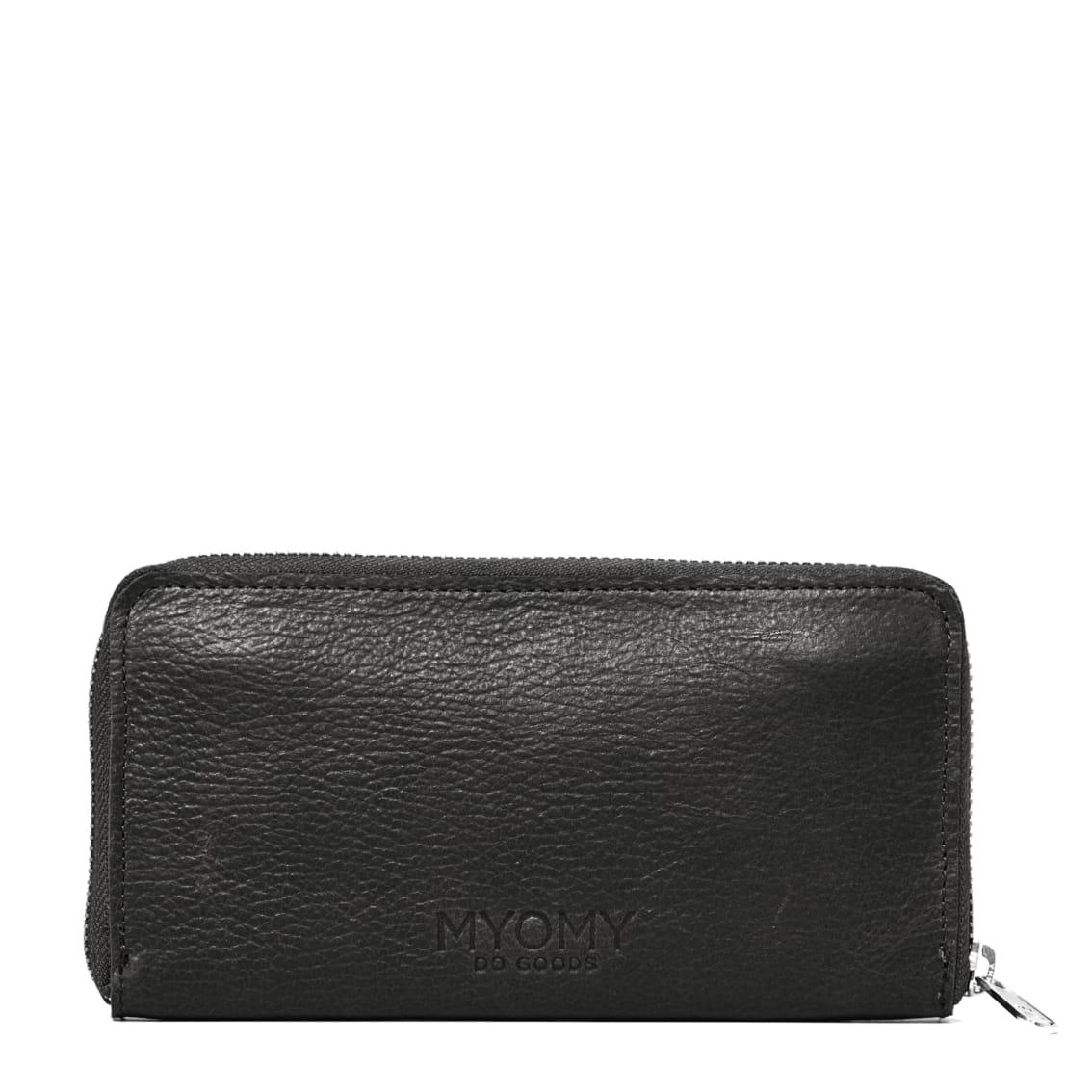 MY PAPER BAG Wallet Large (RFID) - rambler black