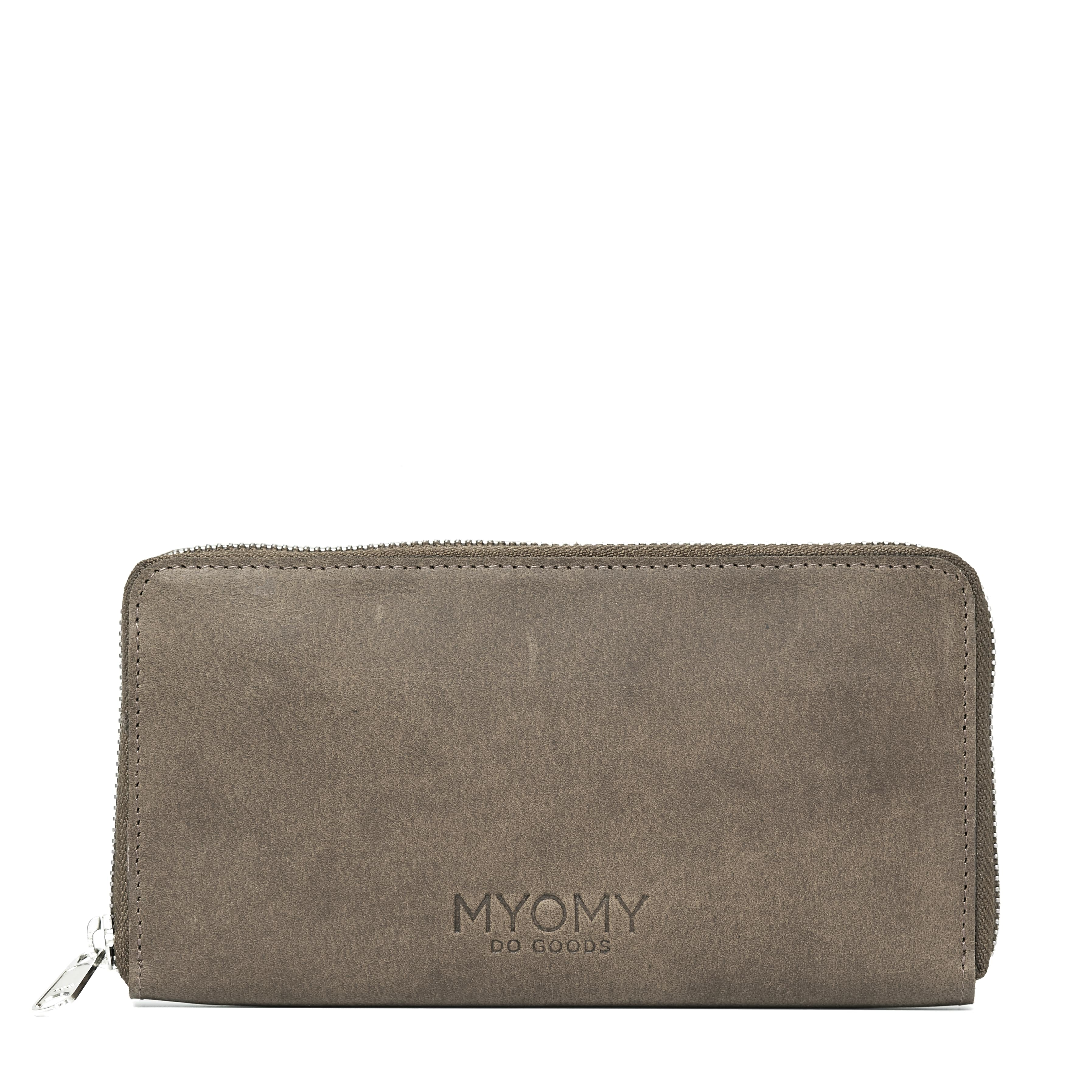 MY PAPER BAG Wallet Large (RFID) - hunter taupe