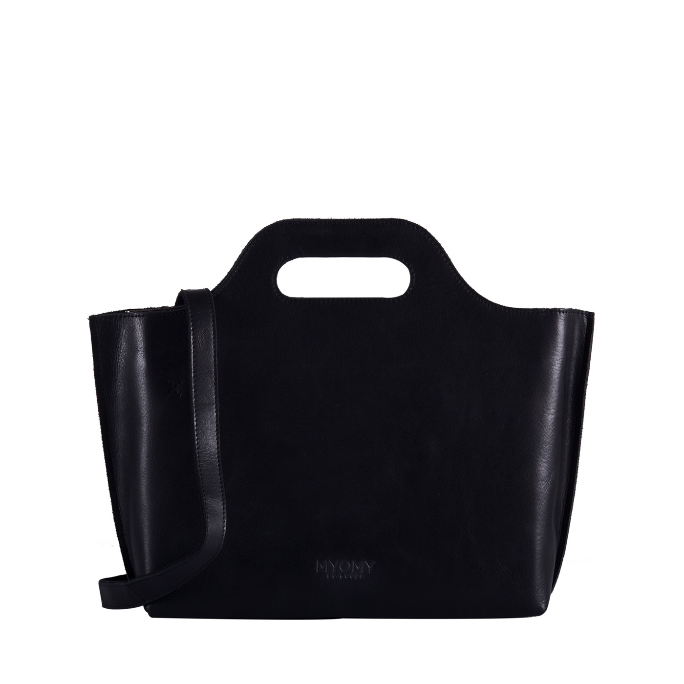 MY CARRY BAG Handbag – hunter waxy black