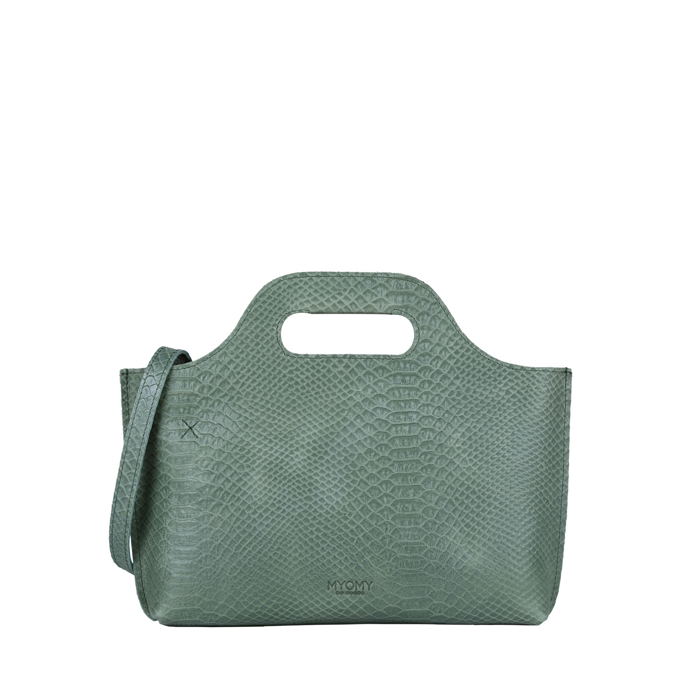 MY CARRY BAG Mini - anaconda sea green
