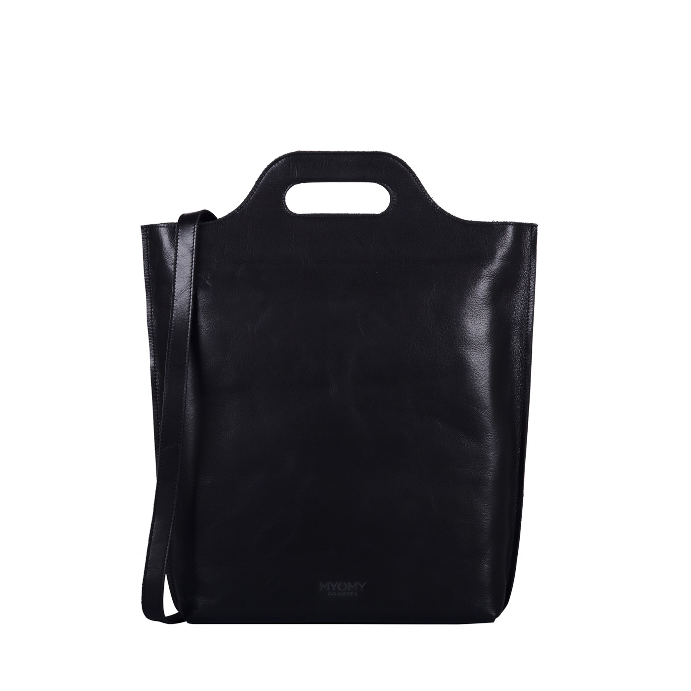 MY CARRY BAG Shopper – hunter waxy black