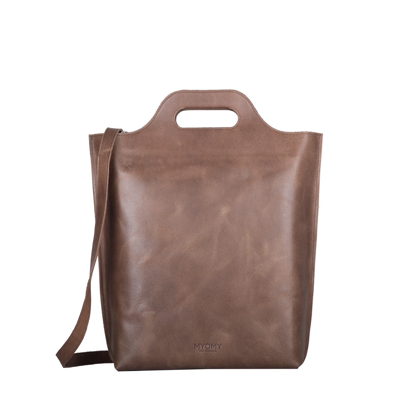 MY CARRY BAG Shopper – hunter waxy original