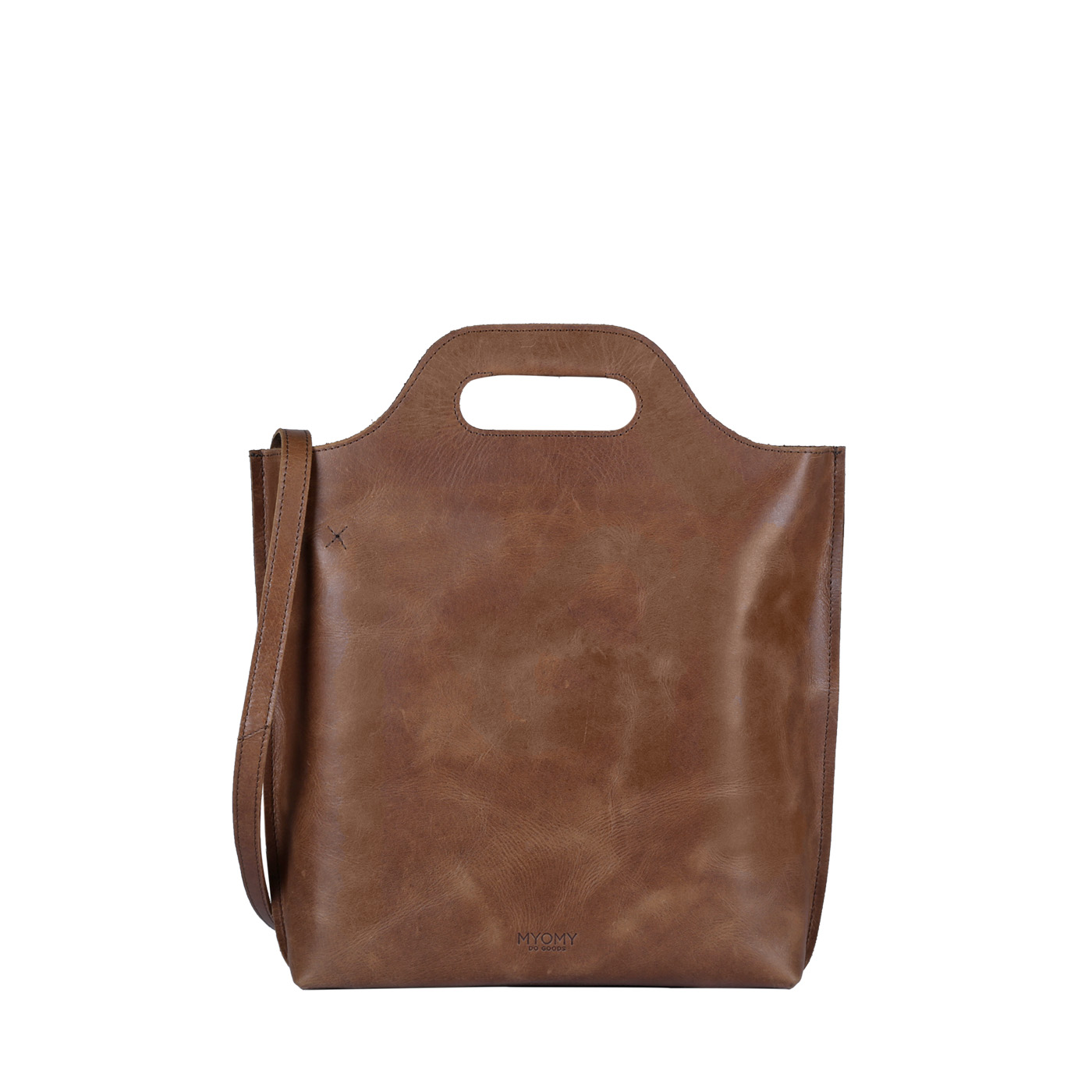 MY CARRY BAG shopper medium - hunter waxy original