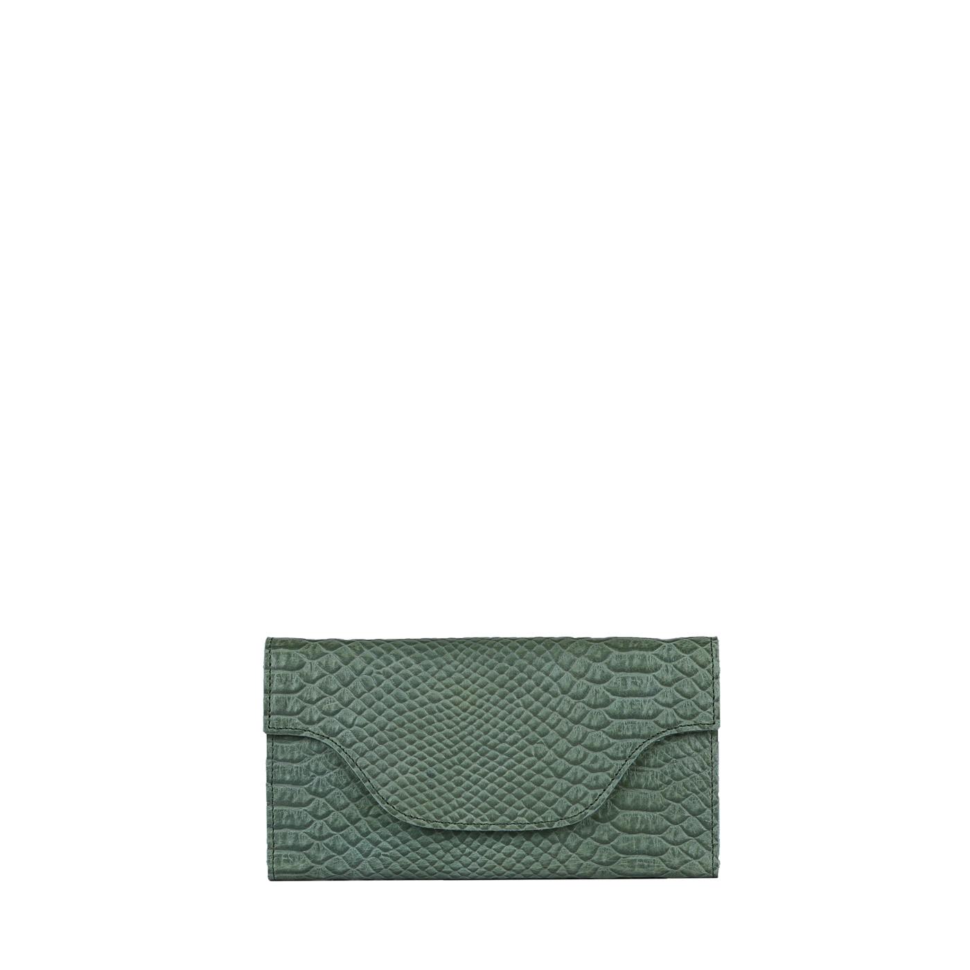 MY CARRY BAG Wallet Large (RFID) - anaconda sea green