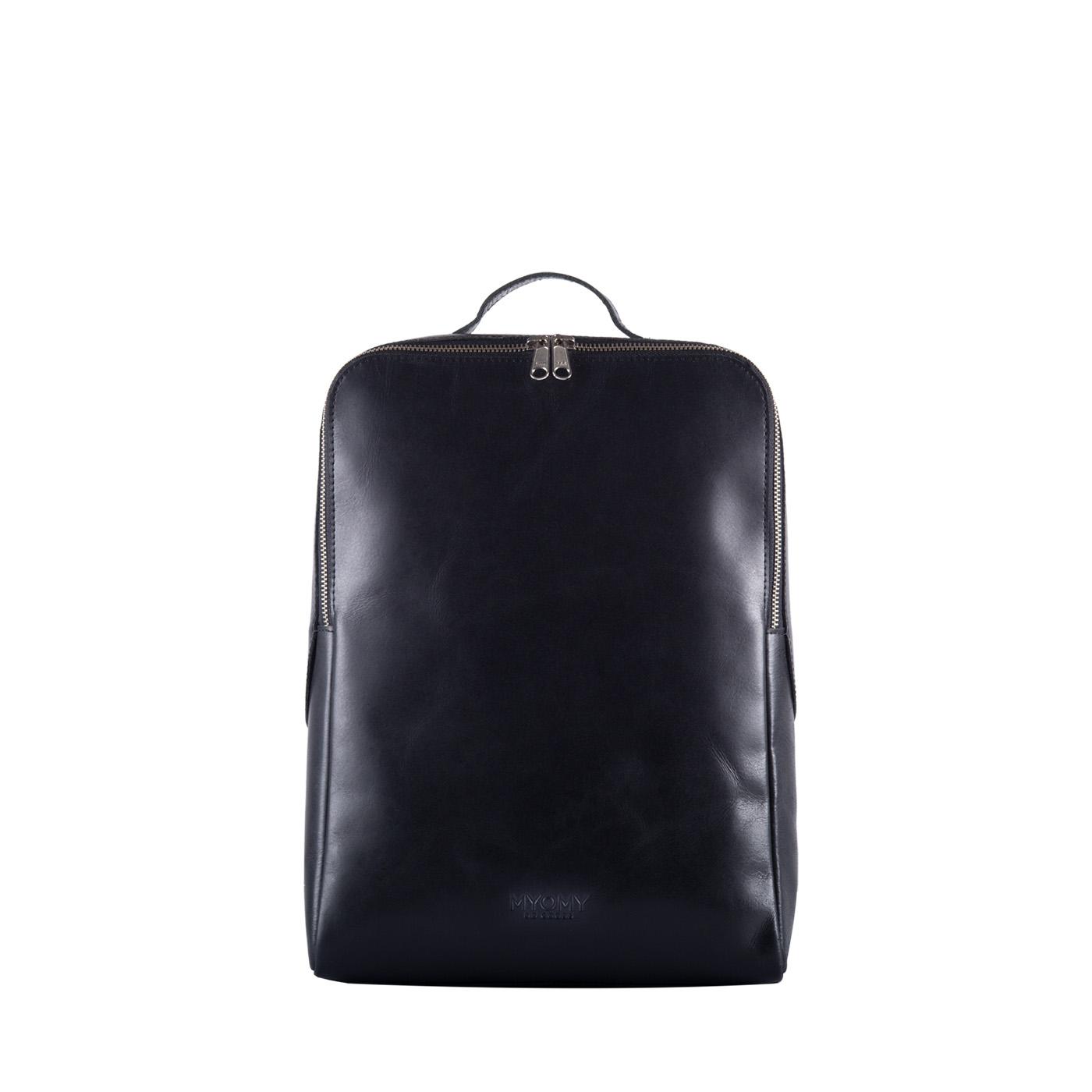 MY GYM BAG Back bag – hunter waxy black