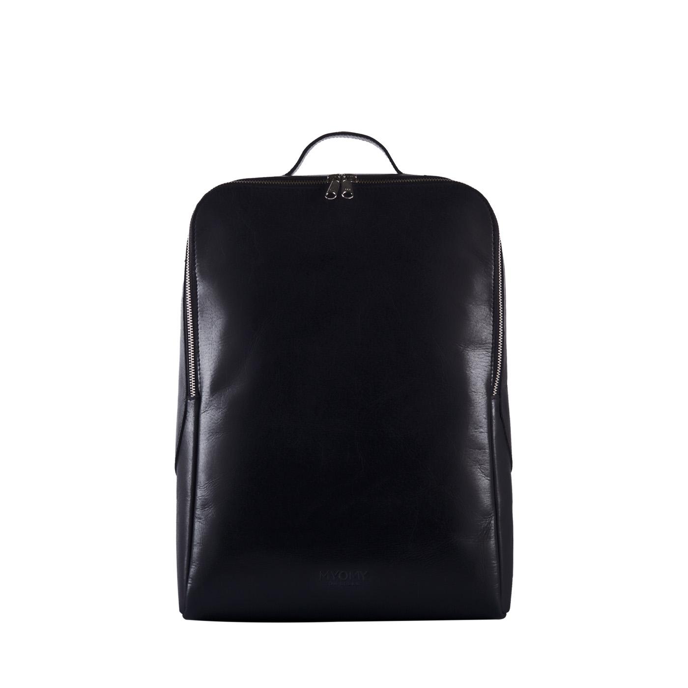 MY GYM BAG Back Bag laptop - hunter waxy black
