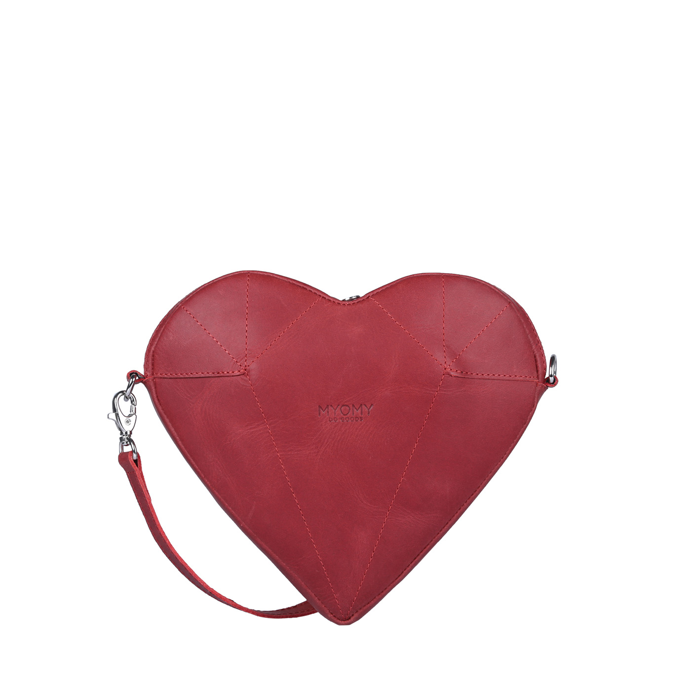 MY LOVE BAG Mini - hunter red