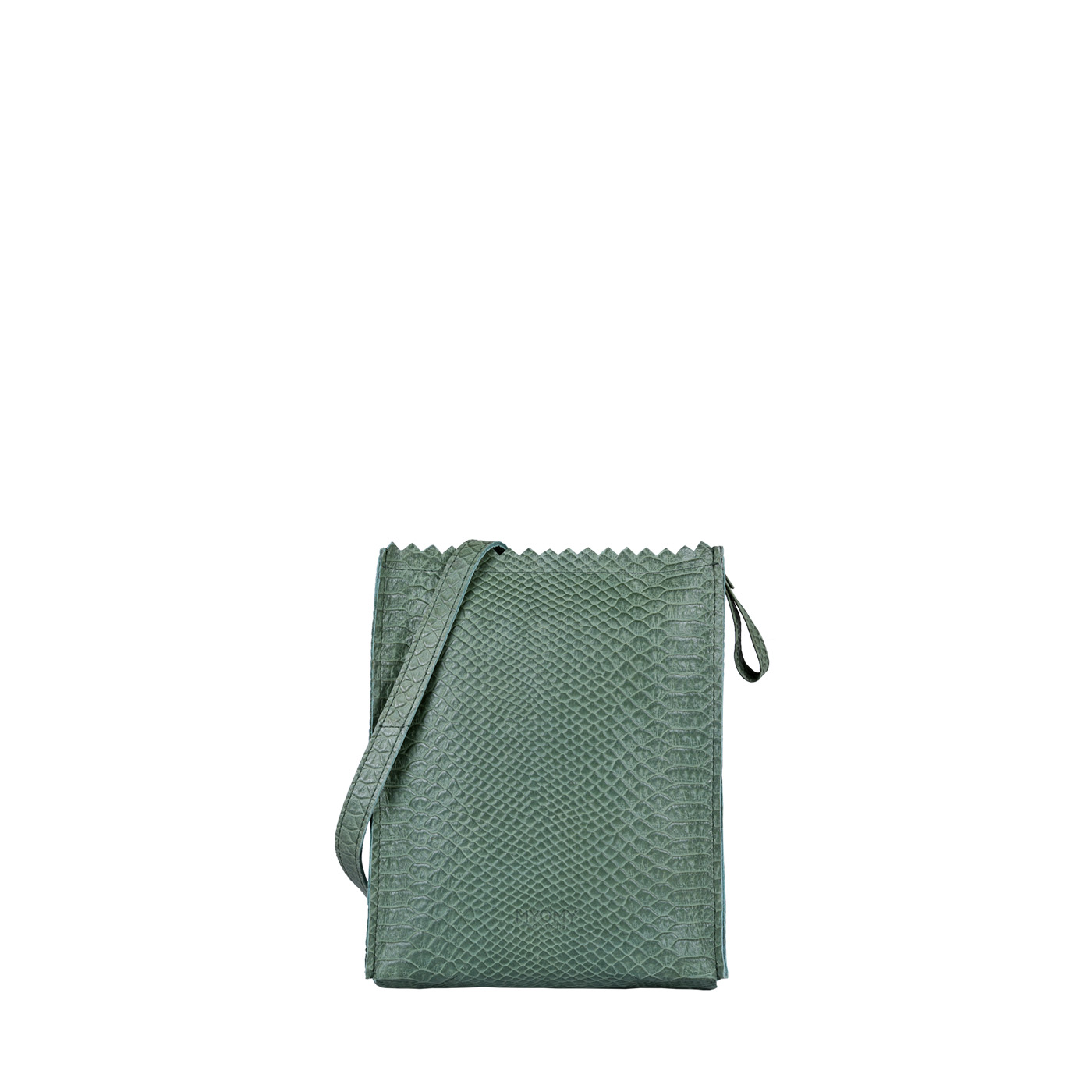 MY PAPER BAG Baggy medium – anaconda sea green