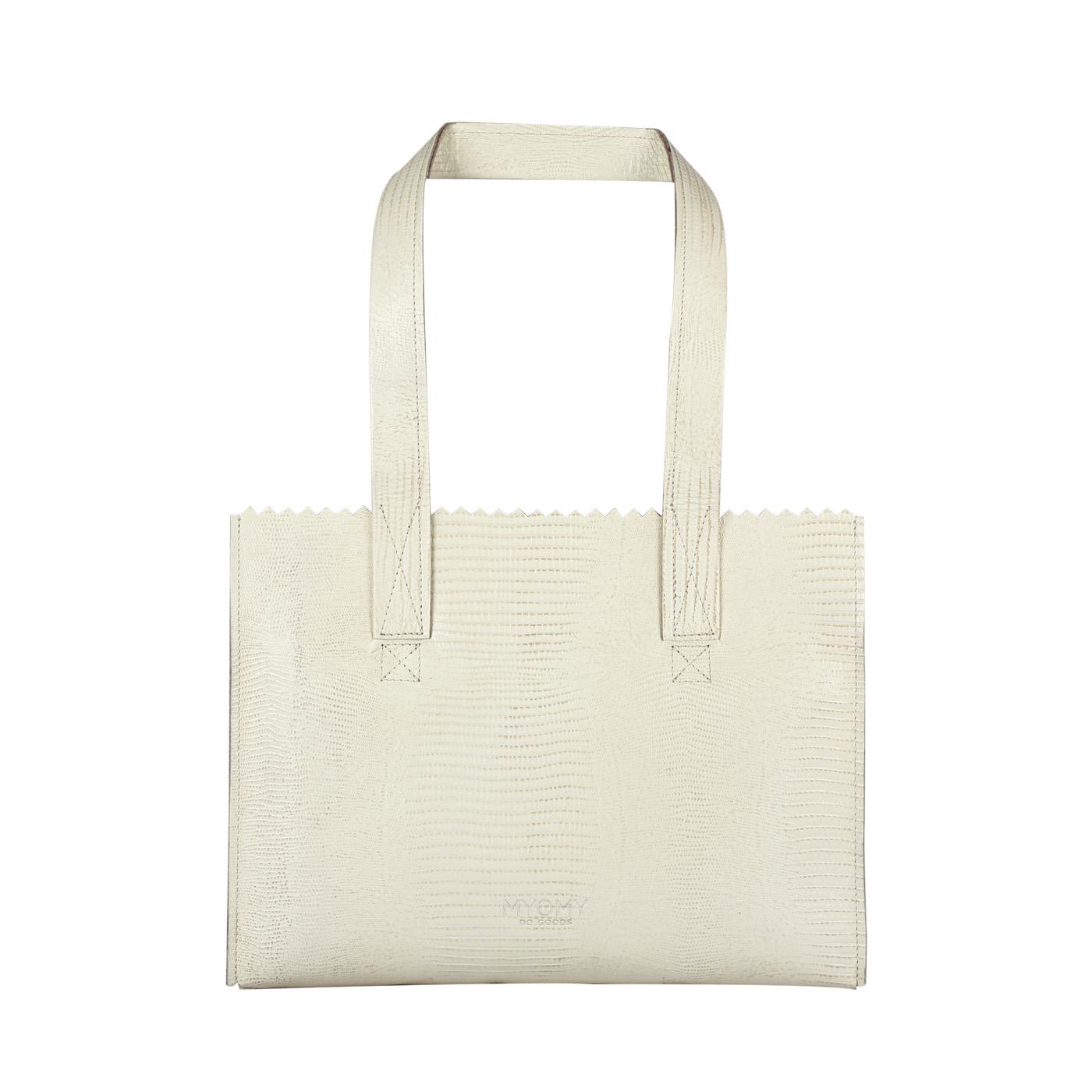 MY PAPER BAG Handbag – lizard desert