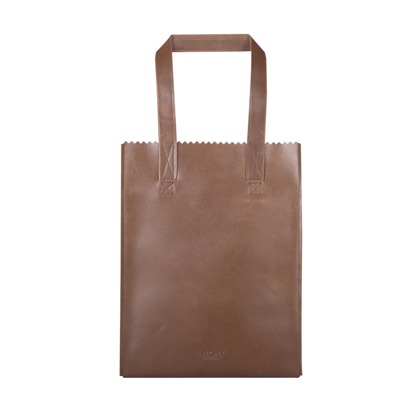 MY PAPER BAG Long handle zip – hunter waxy orignal