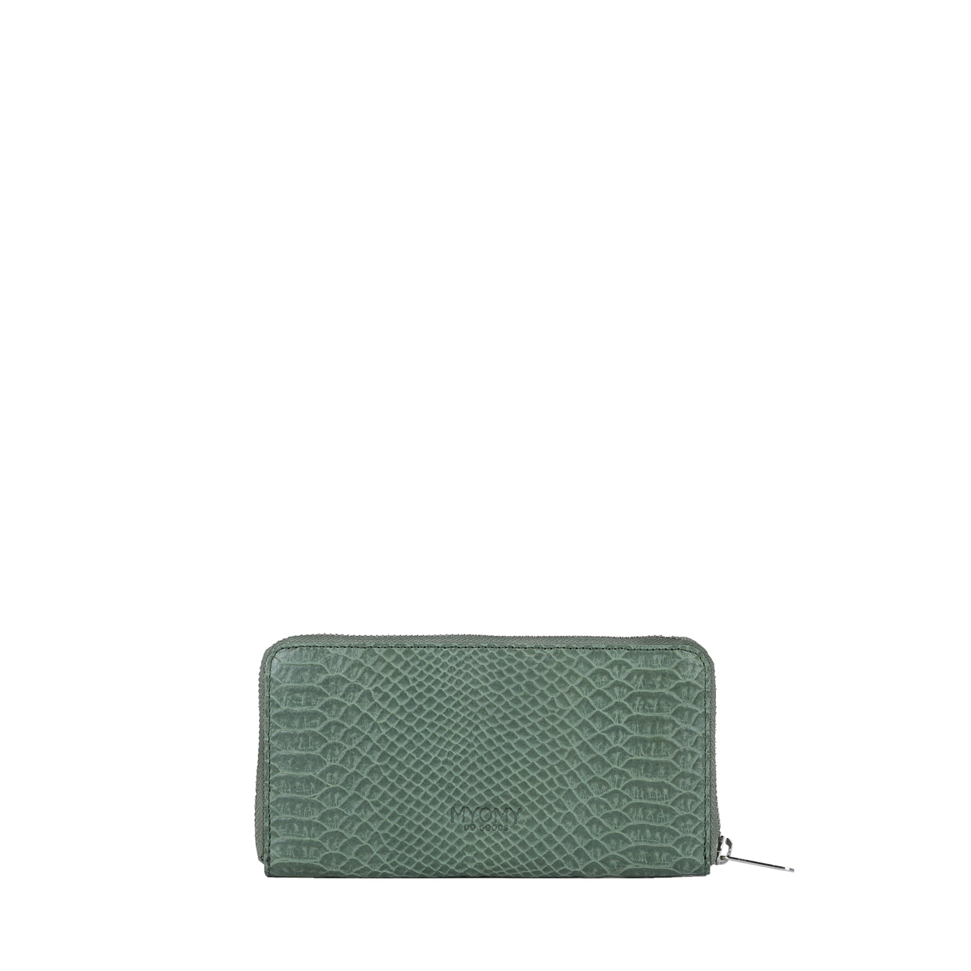 MY PAPER BAG Wallet - anaconda sea green