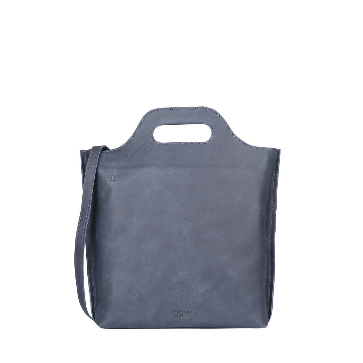 MY CARRY BAG shopper medium- hunter navy blue