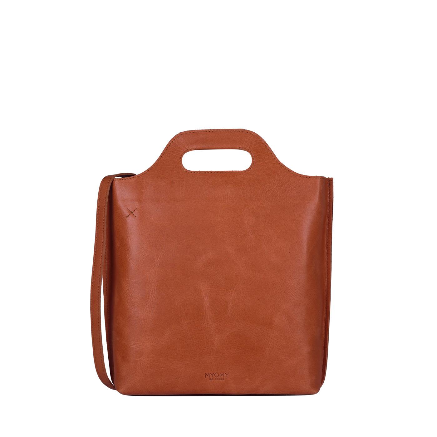 MY CARRY BAG shopper medium- hunter waxy ginger