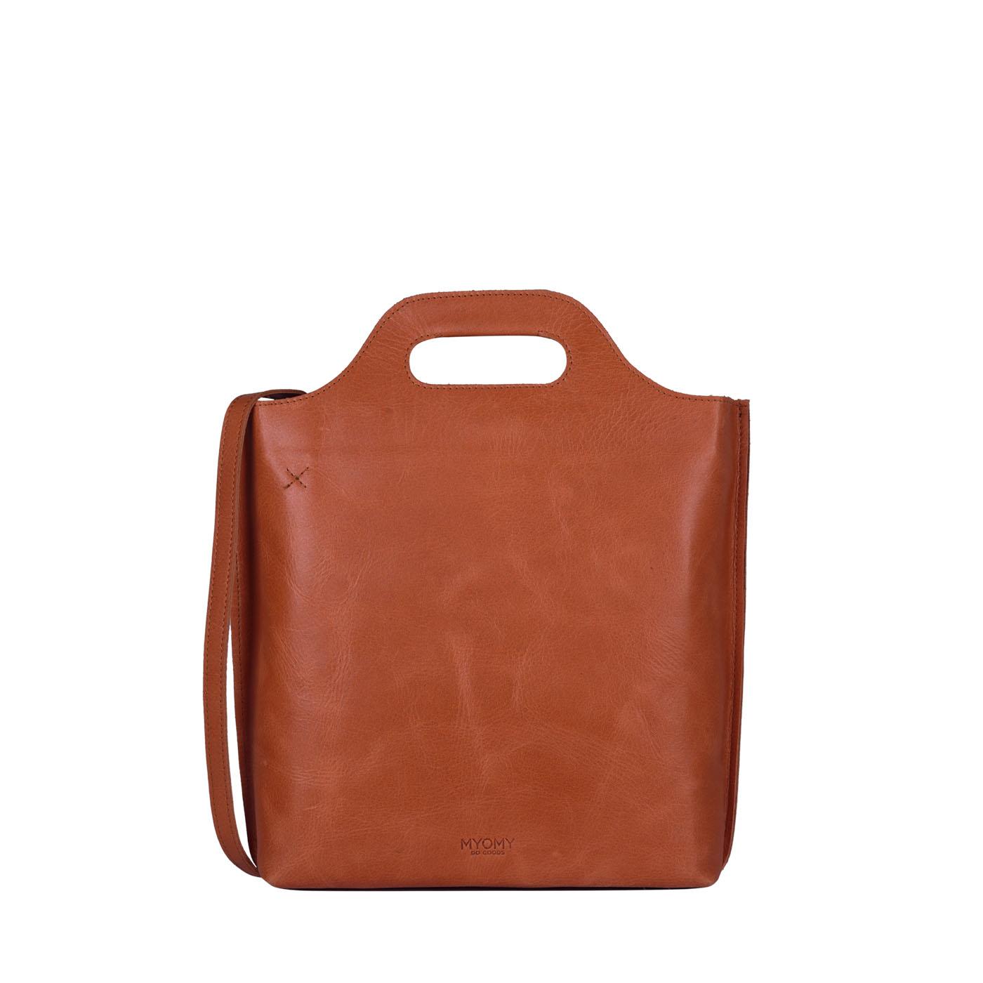MY CARRY BAG shopper medium - hunter waxy ginger
