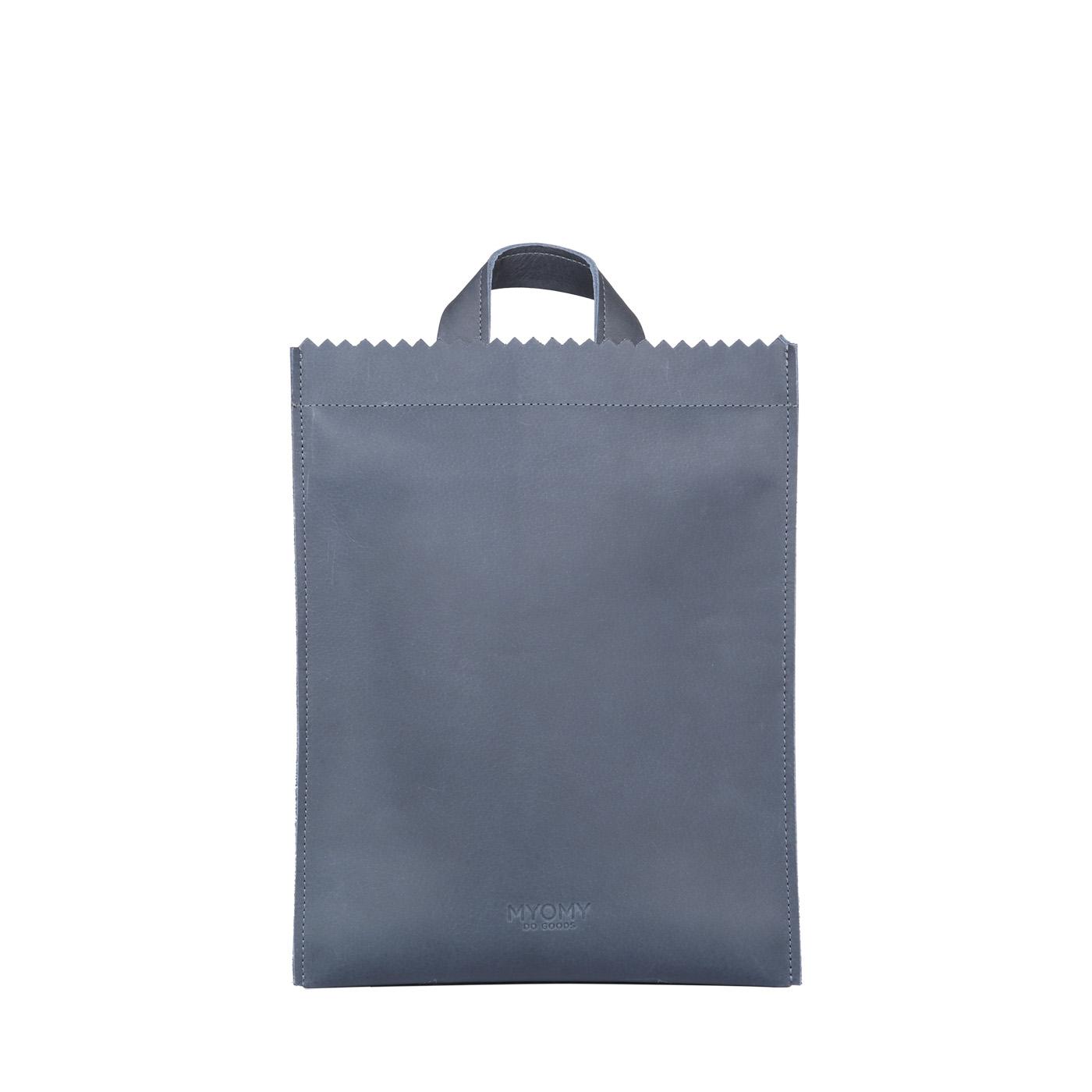 MY PAPER BAG Backbag medium - hunter navy blue