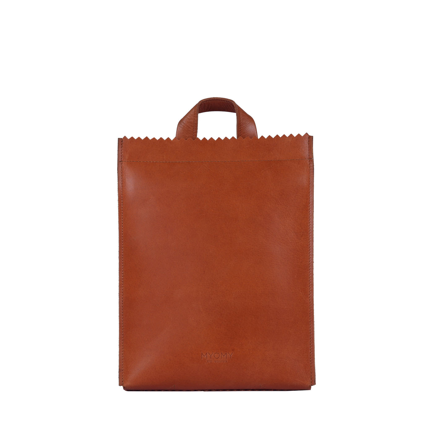 MY PAPER BAG Backbag medium - hunter waxy ginger