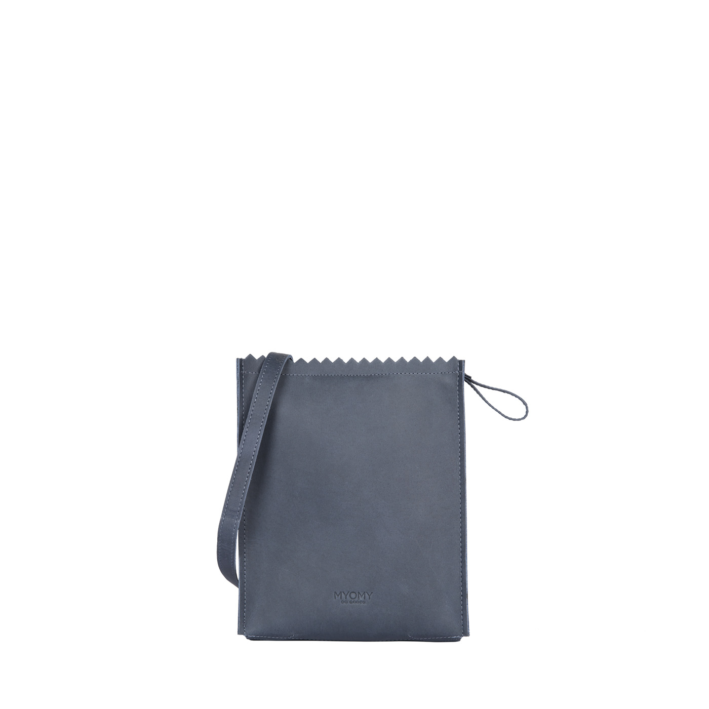 MY PAPER BAG Baggy medium – hunter navy blue