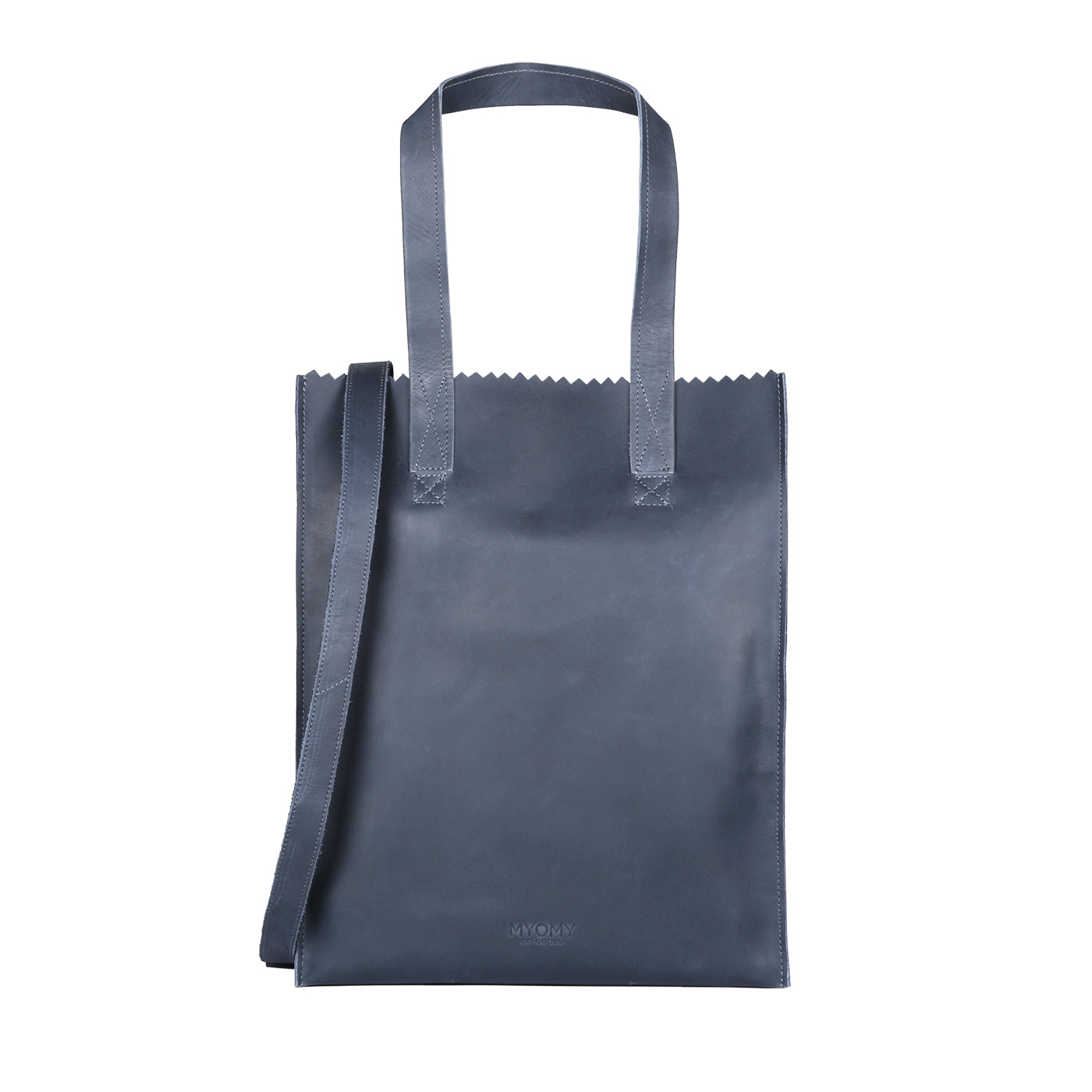 MY PAPER BAG Deluxe office - hunter navy blue